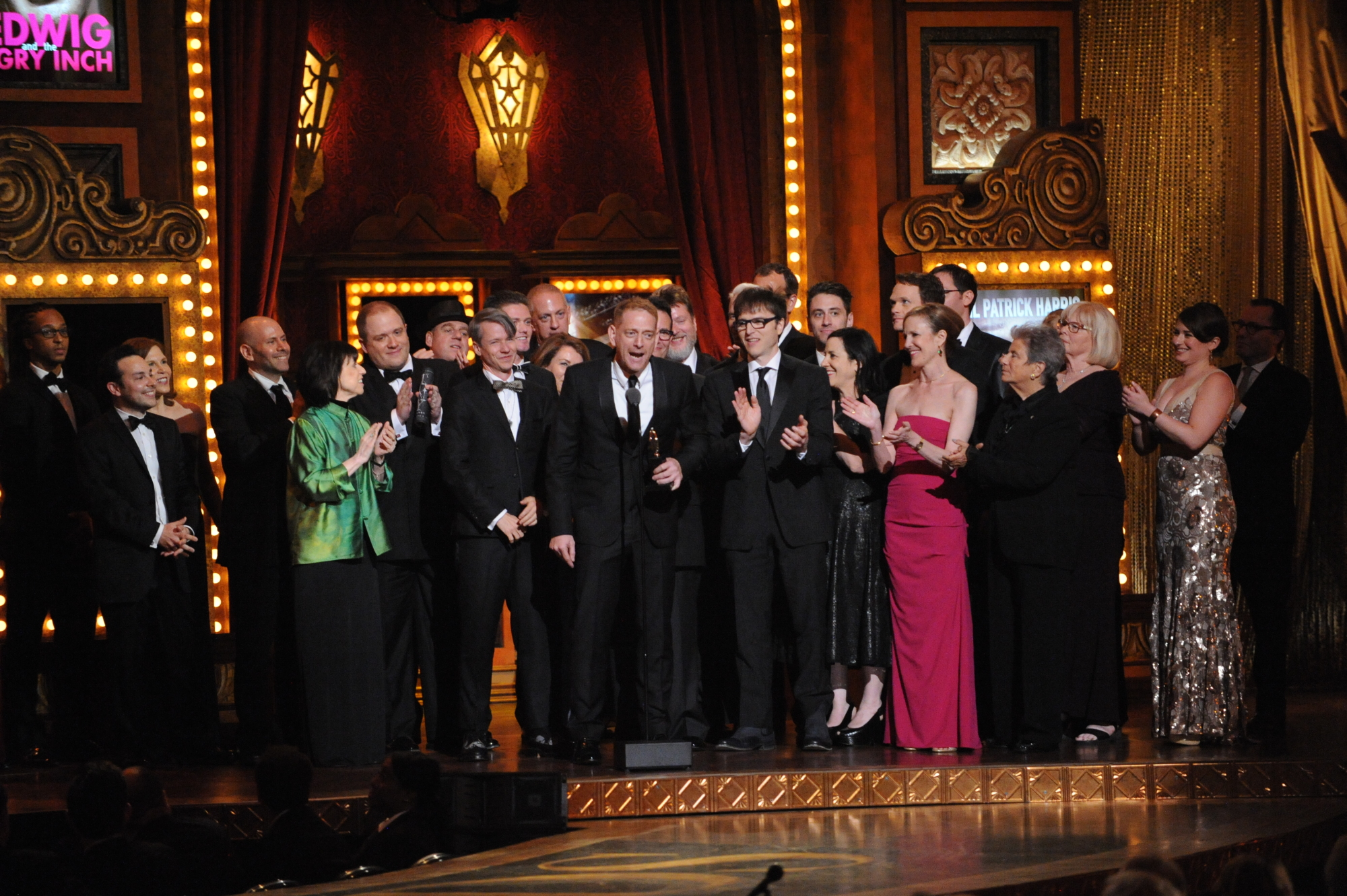 Winner Best Revival of a Musical Hedwig and the Angry Inch - 2014 Tony Awards