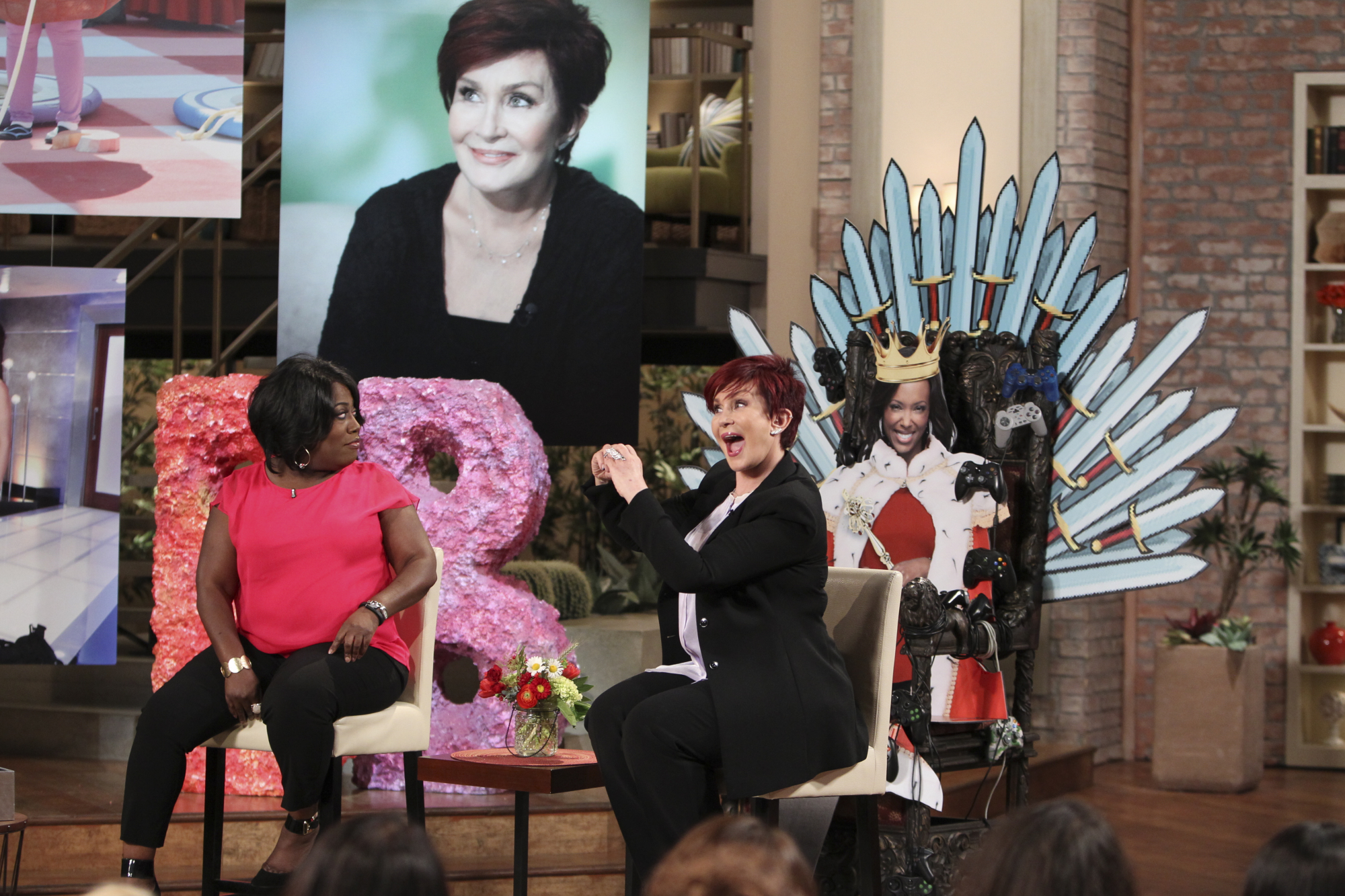 Sheryl Underwood and Sharon Osbourne Get Ready to Enter the Big Brother House