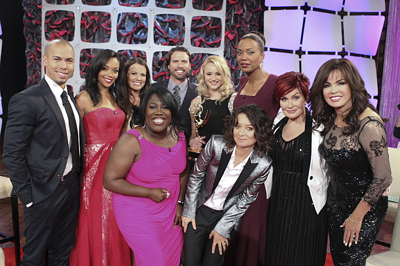 THE TALK welcomes the cast of The Young and the Restless