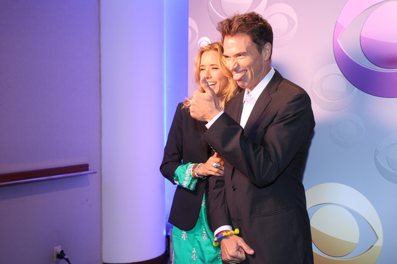 5. Téa and Tim know how to make each other laugh.