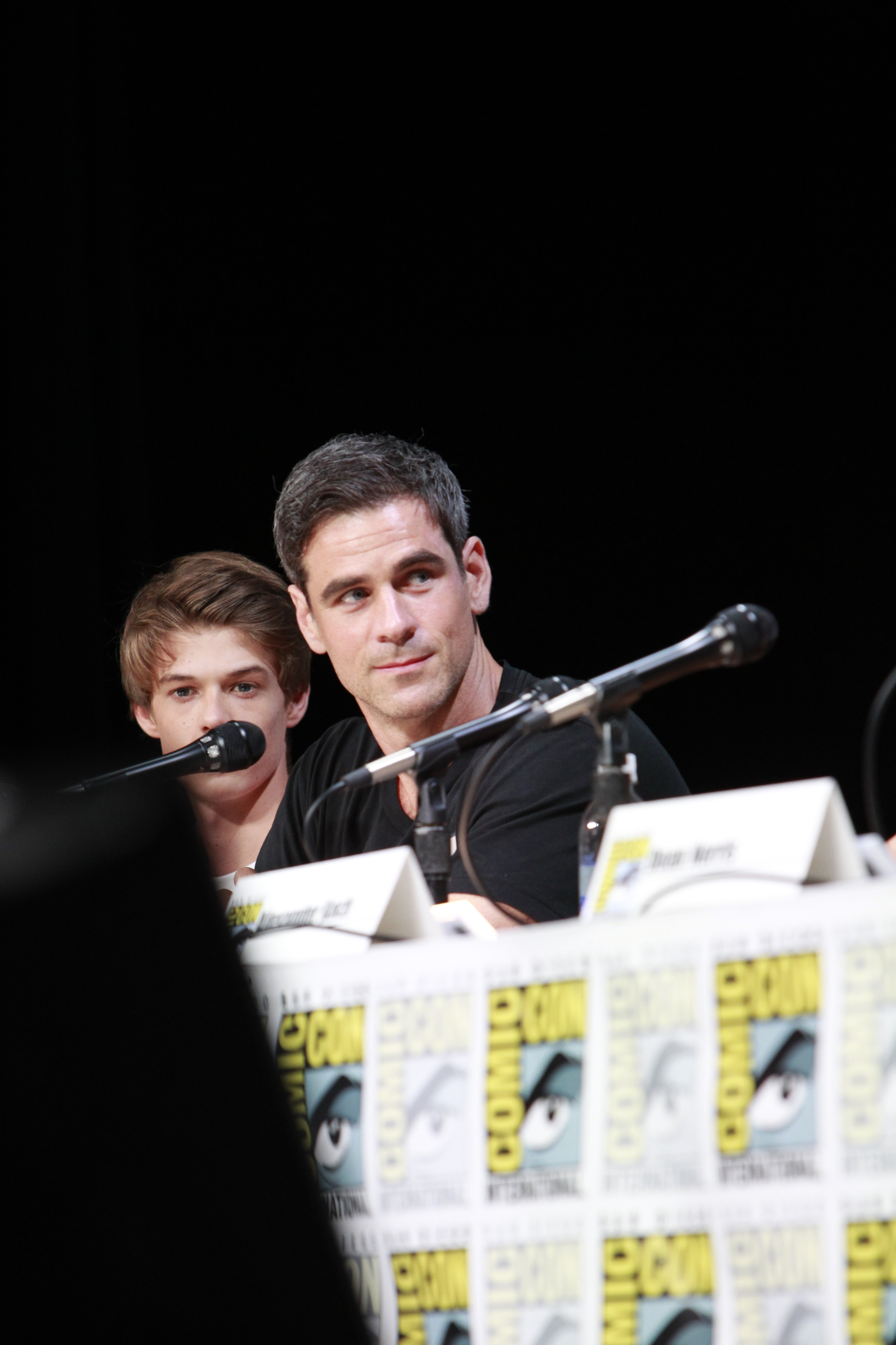 Colin Ford and Eddie Cahill