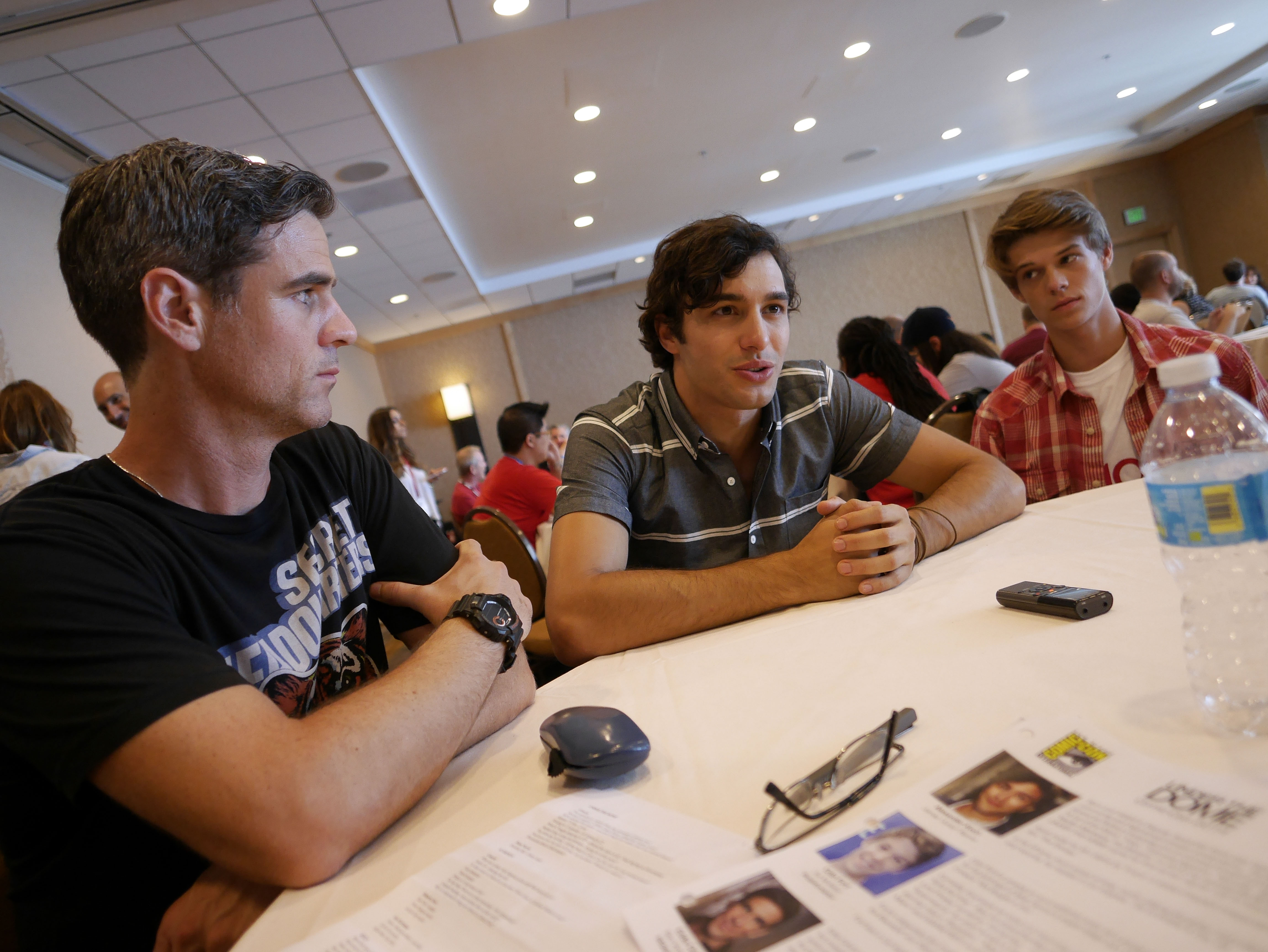 Eddie Cahill, Alex Koch, and Colin Ford Answer Questions