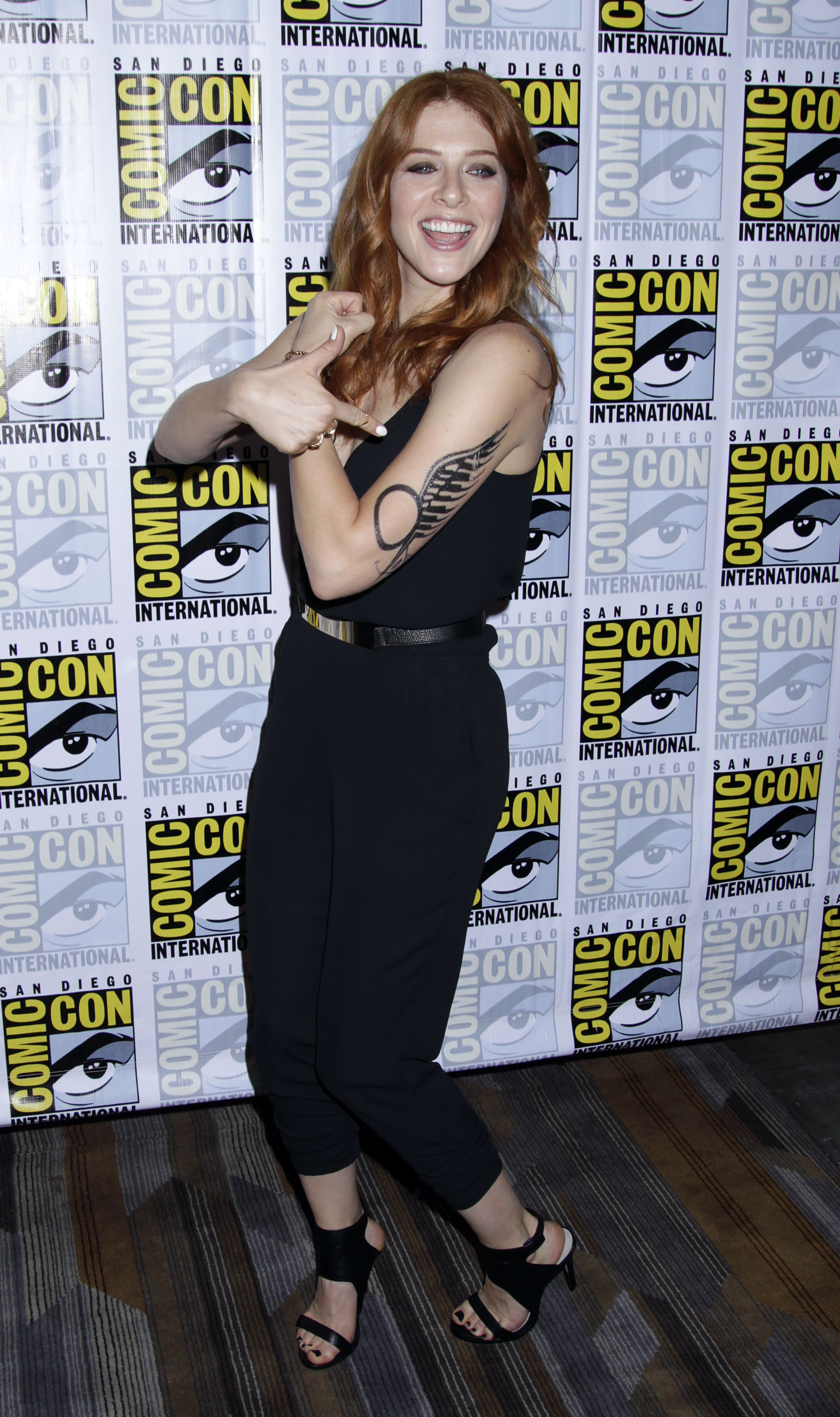 Rachelle Lefevre Showing Some Skin