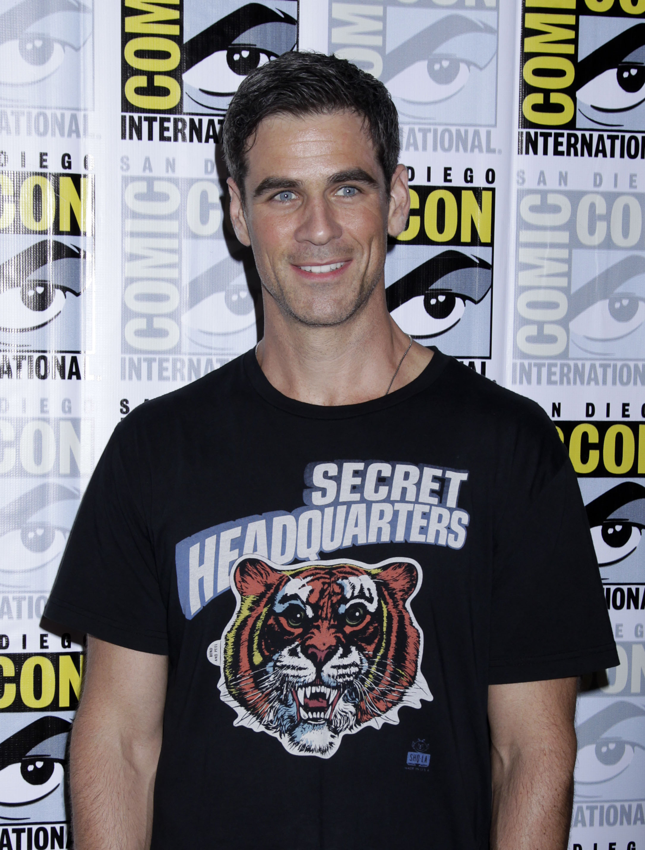 Eddie Cahill Shares a Smile