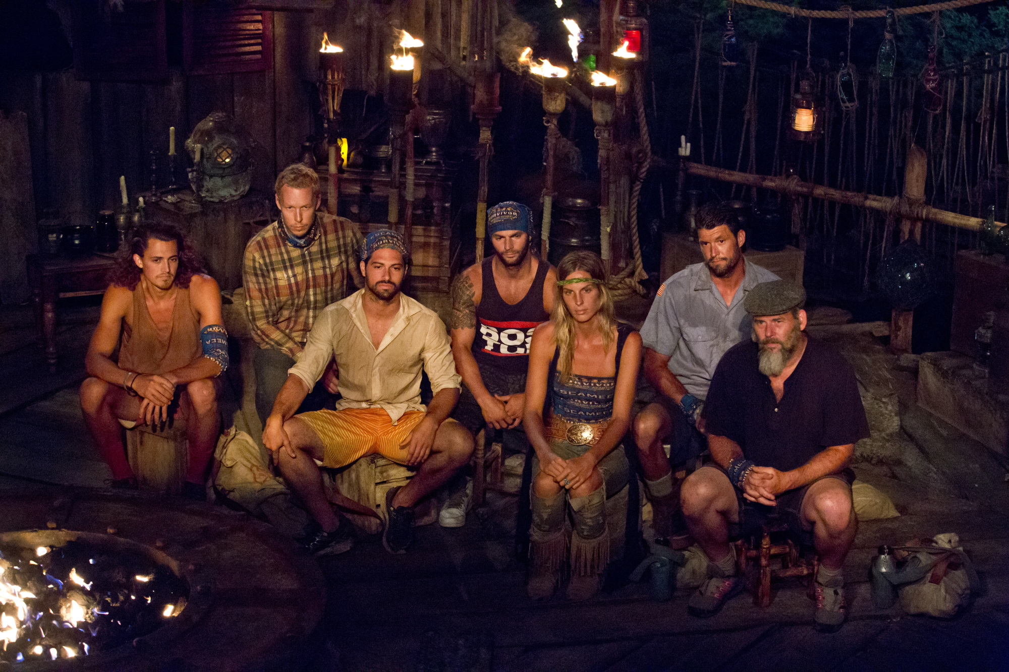 At Tribal Council