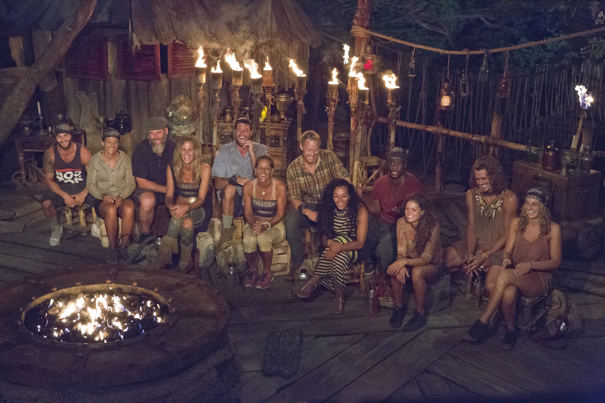 Together at Tribal Council