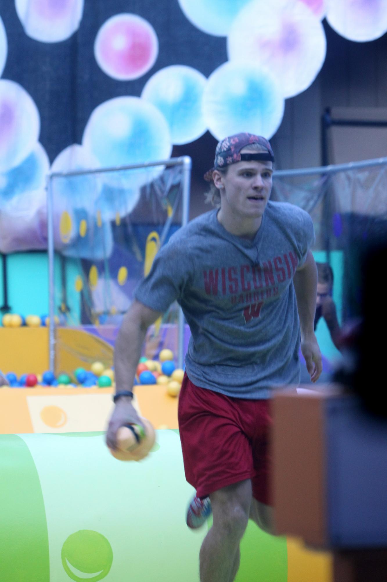 Hayden competes
