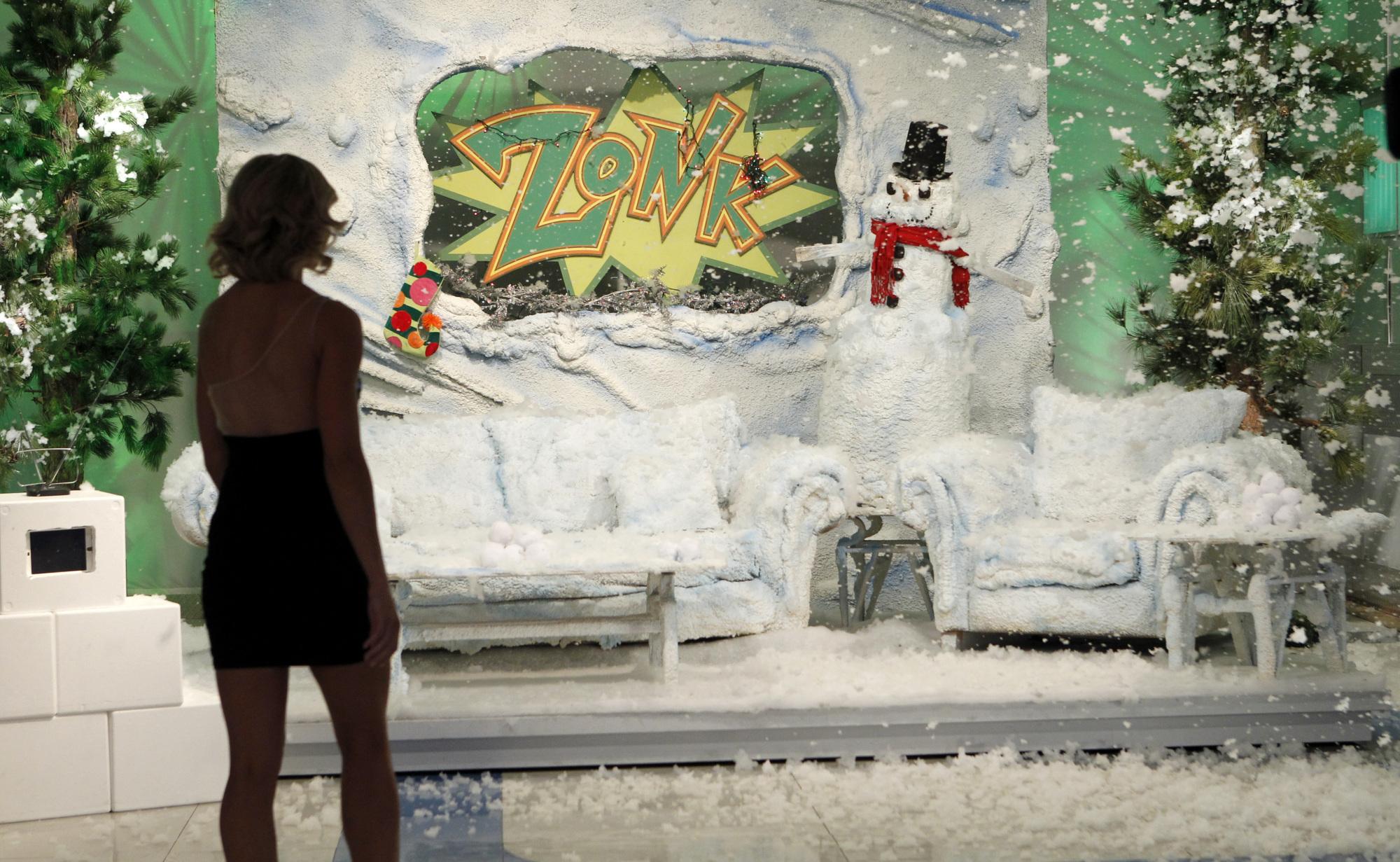 Snowman Living Room