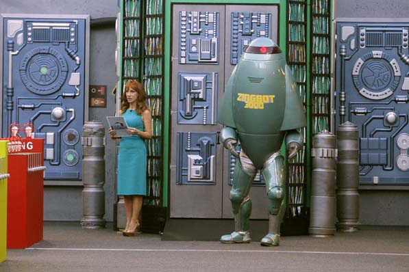 Kathy Griffin and Zingbot