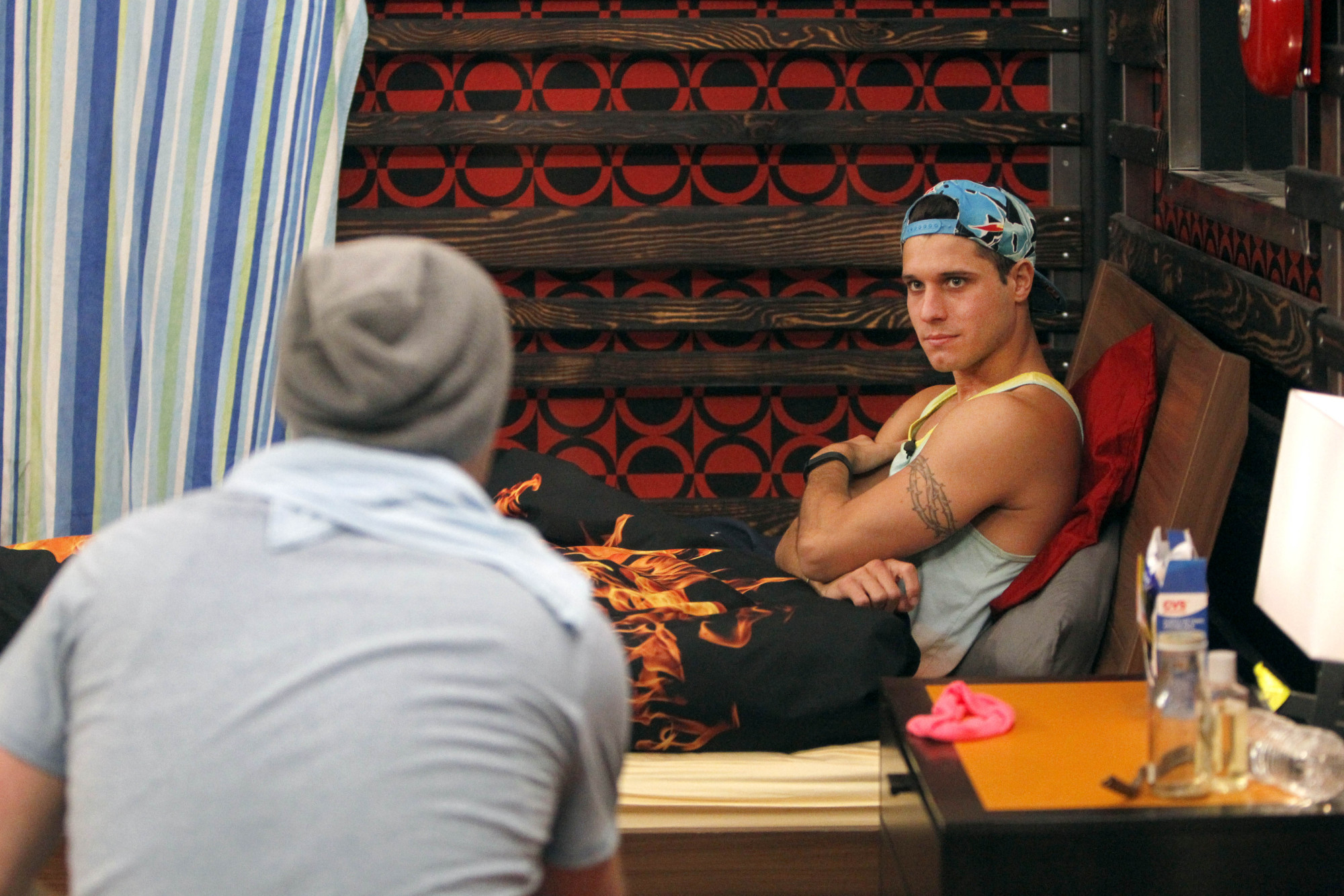 Cody chats with Derrick