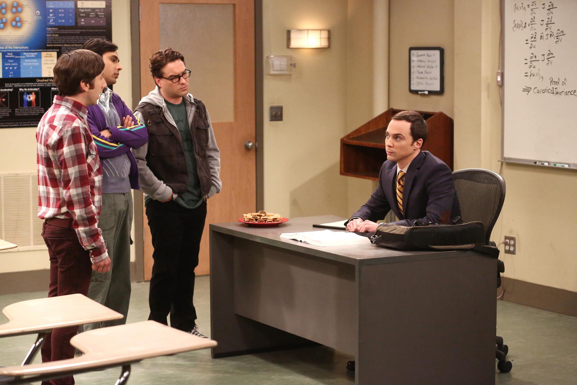Sheldon the teacher
