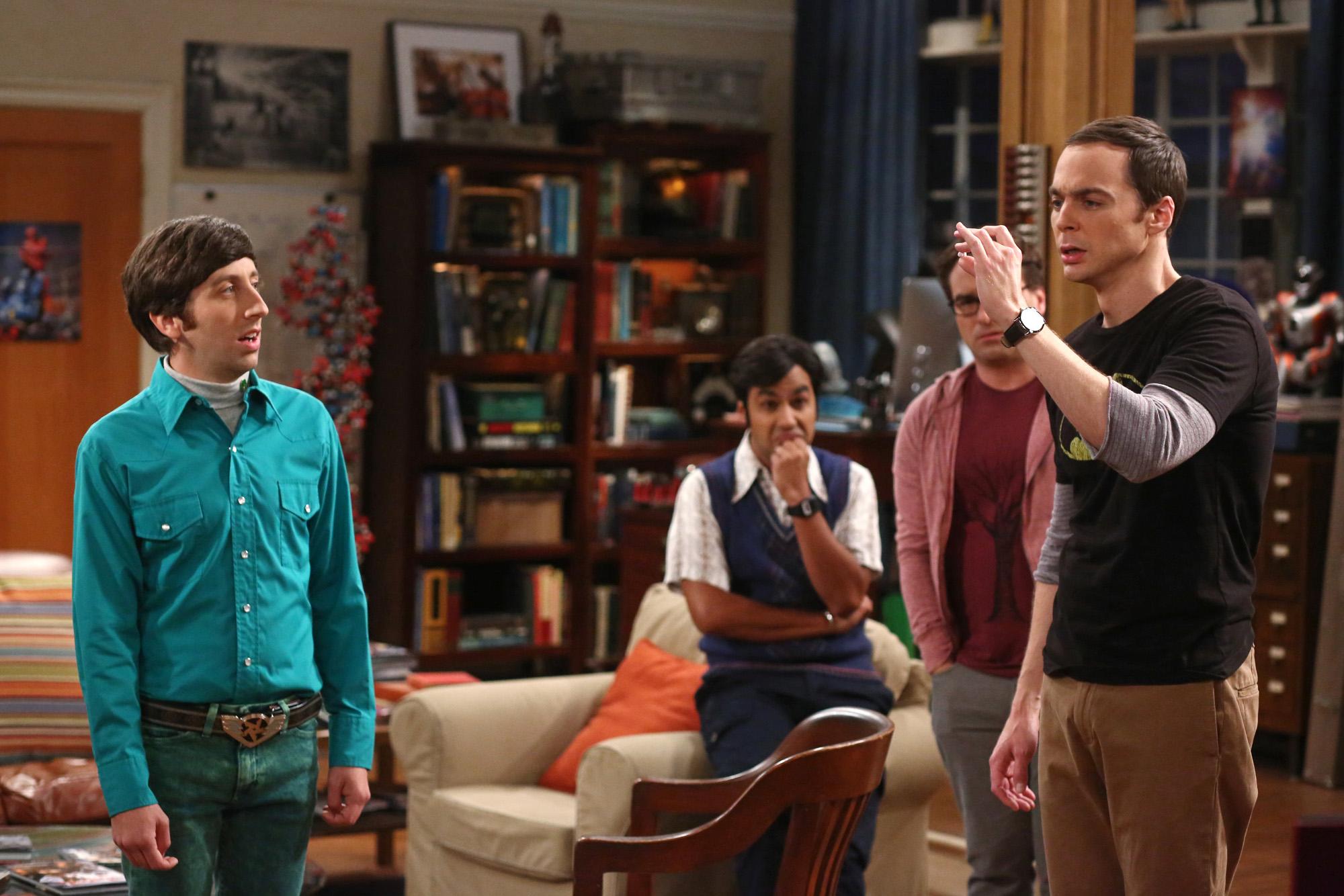 Sheldon makes a point