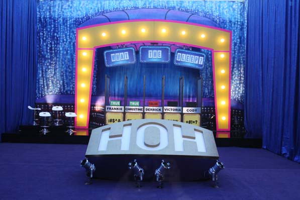 HoH Competition Set-Up