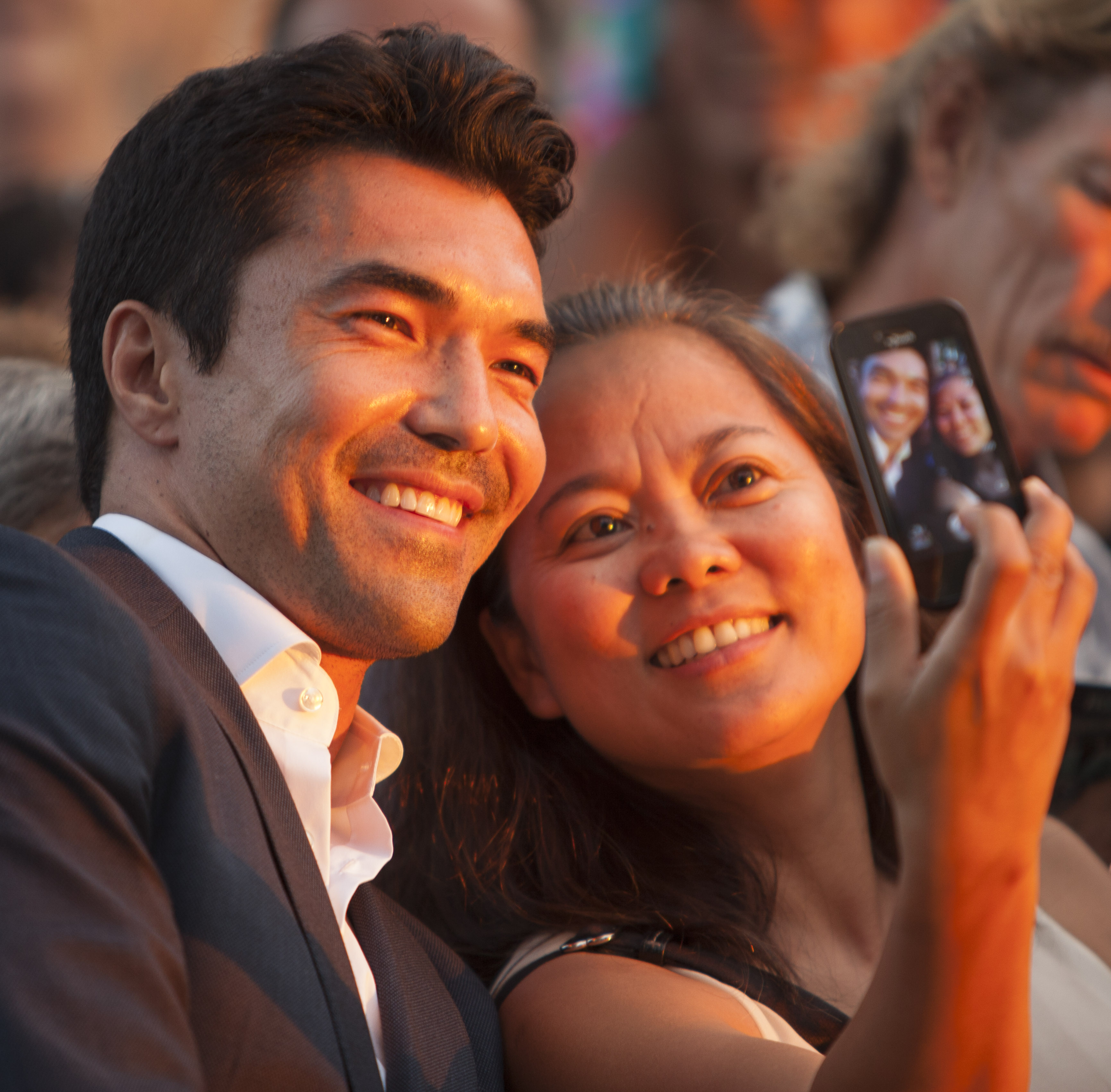 Ian Anthony Dale at the Season 5 Sunset on the Beach Premiere