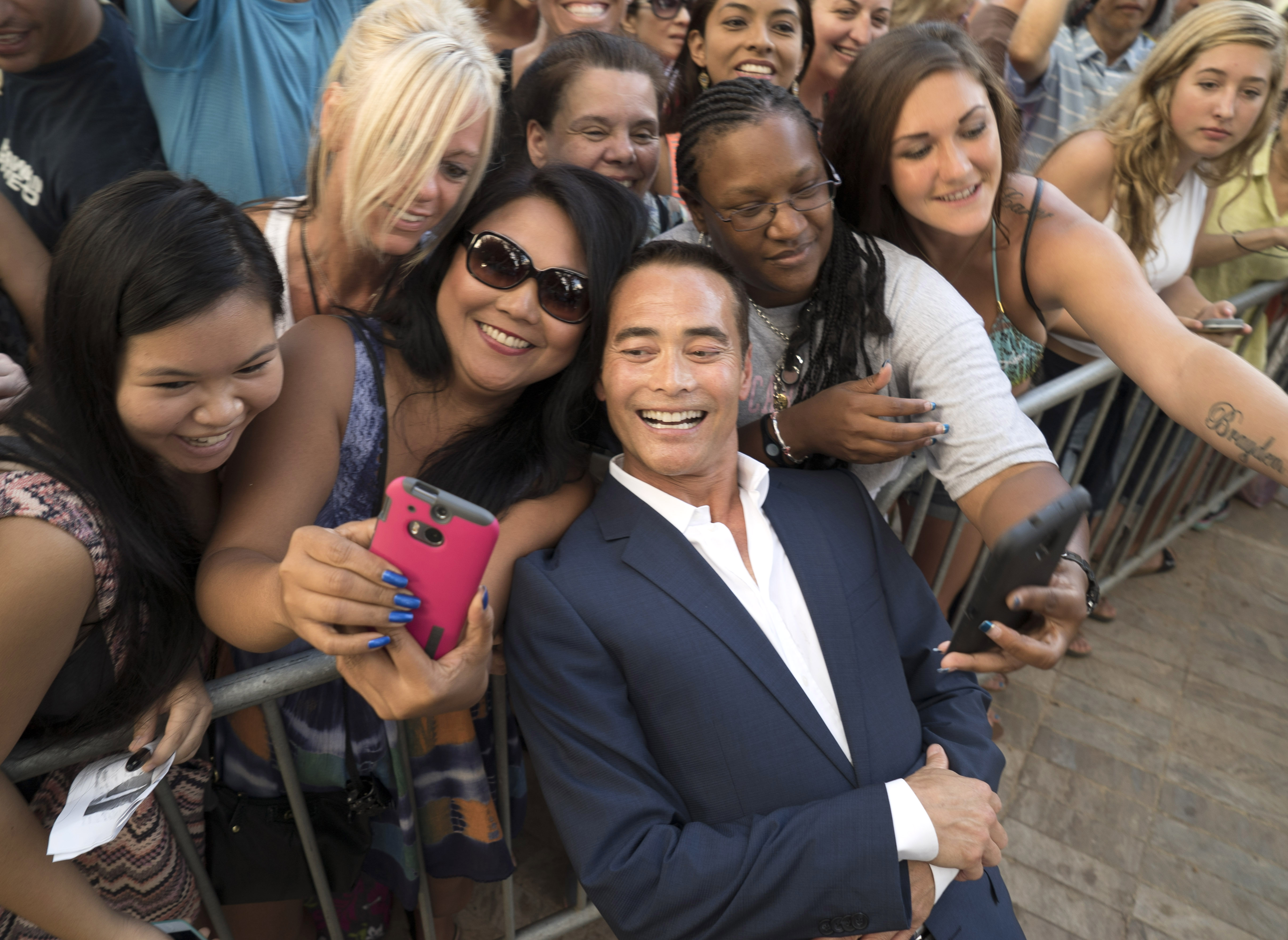 Mark Dacascos at the Season 5 Sunset on the Beach Premiere