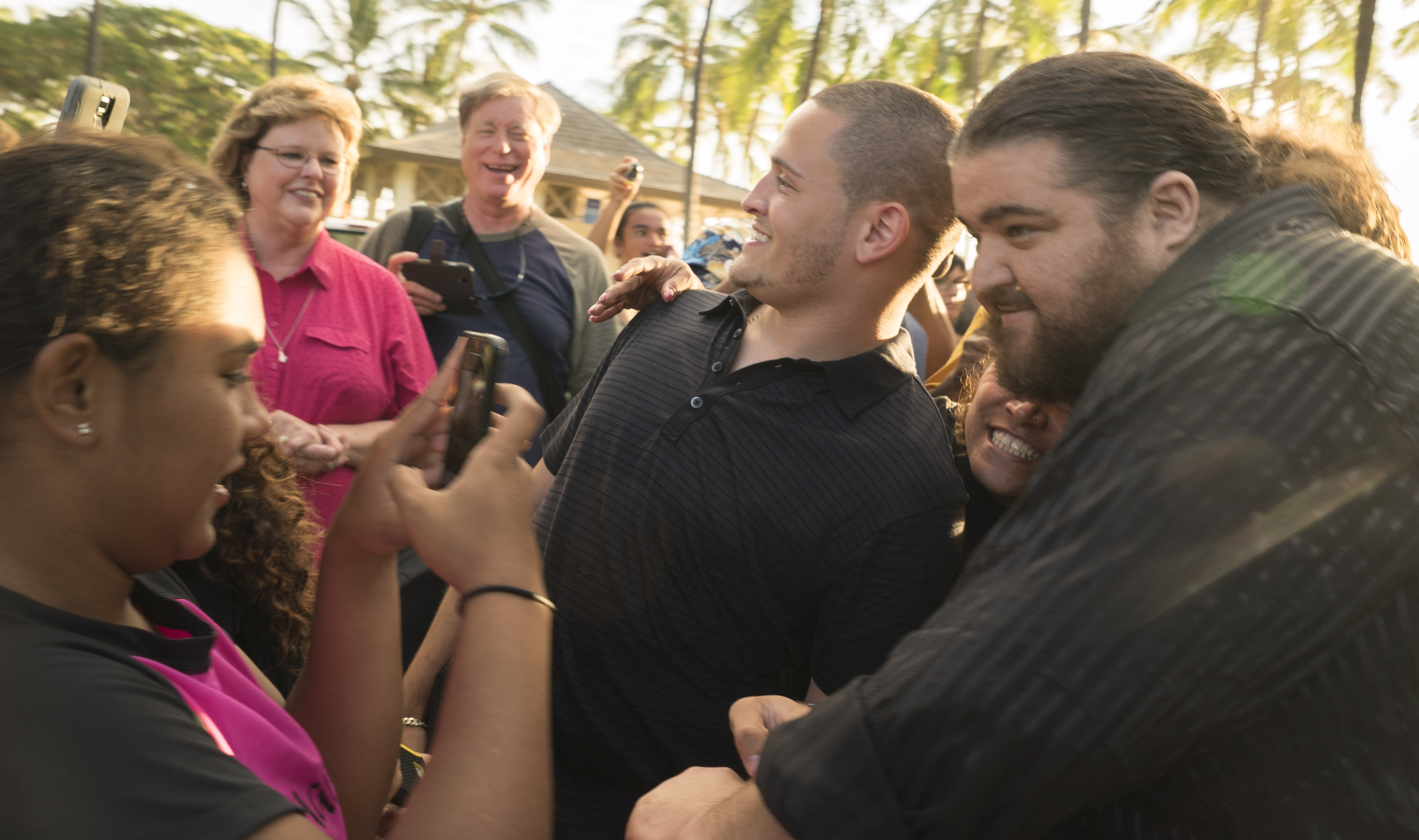 Jorge Garcia at the Season 5 Sunset on the Beach Premiere