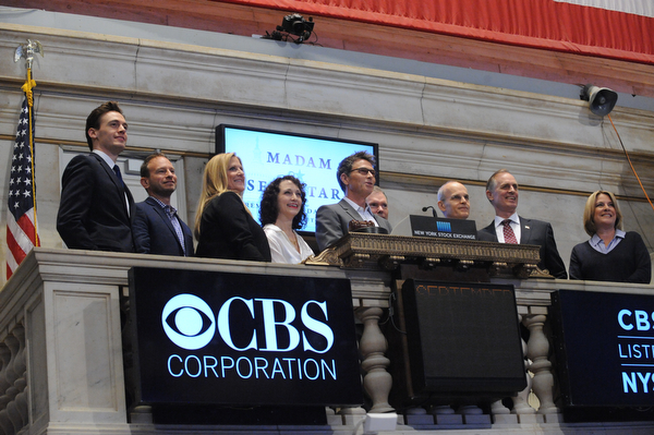 Madam Secretary Rings the Closing Bell at the New York Stock Exchange