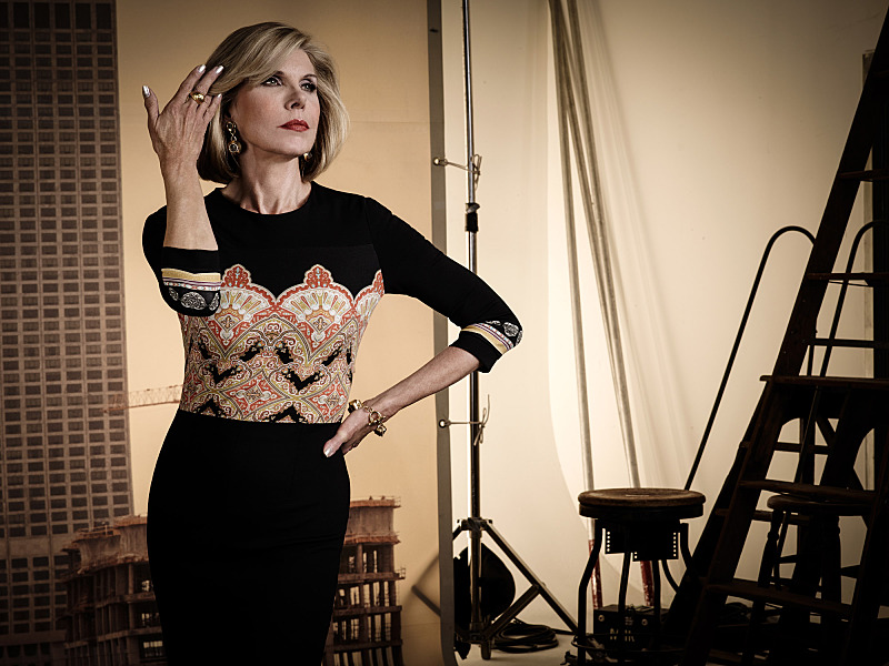 Christine Baranski as Diane Lockhart