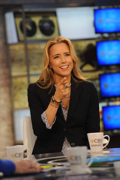 Téa Leoni of Madam Secretary on CBS This Morning