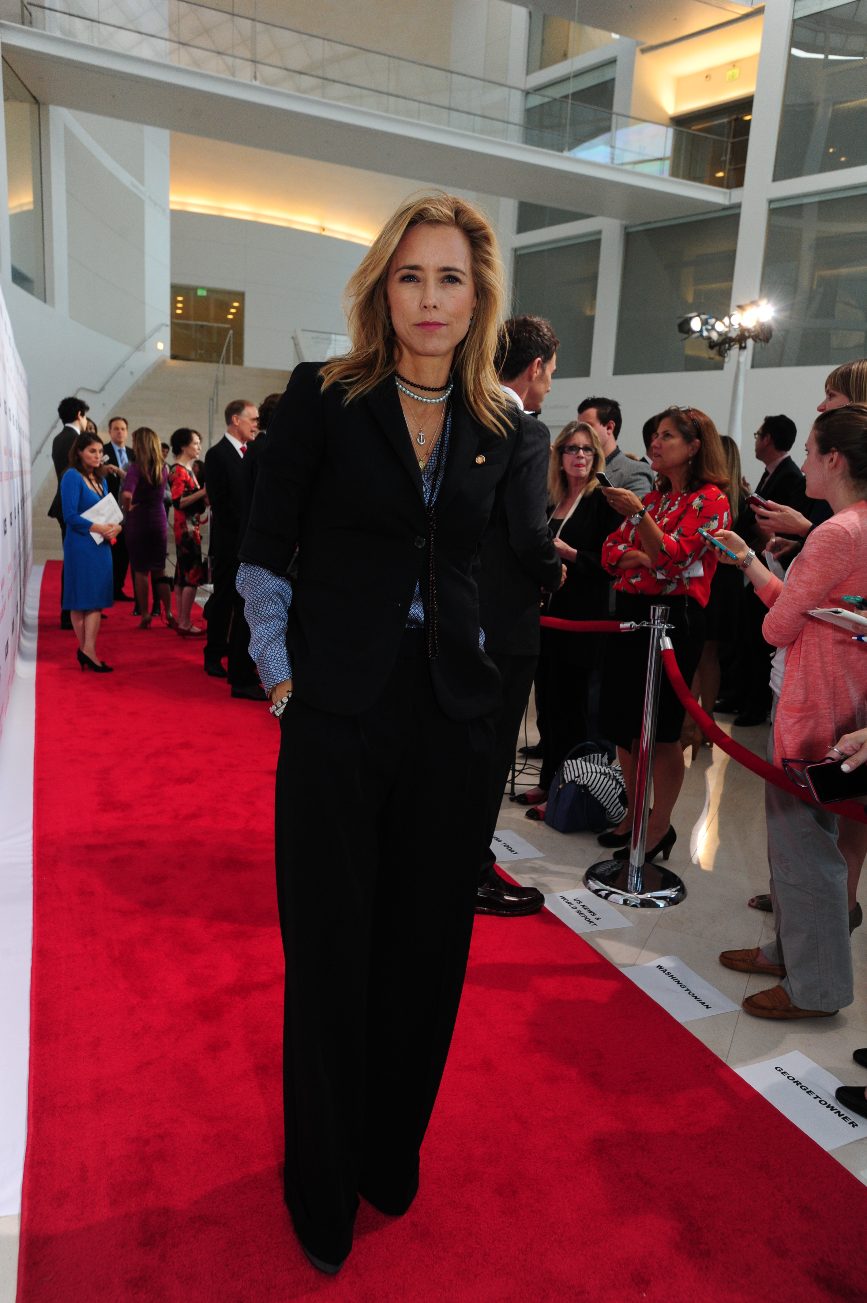 41. Téa Leoni has lived in Tokyo, Italy and St. Croix.