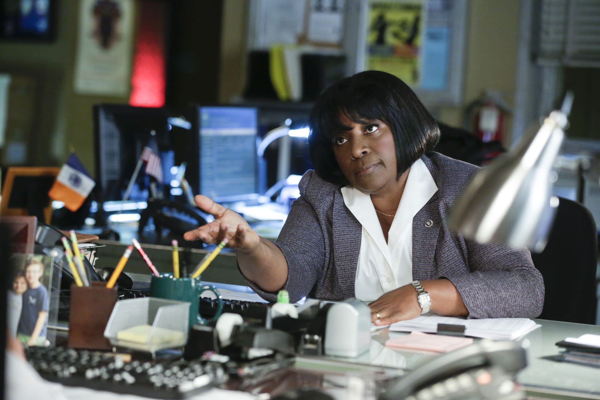 LaTanya Richardson Jackson as Lt. Dee Ann Carver - S5E6