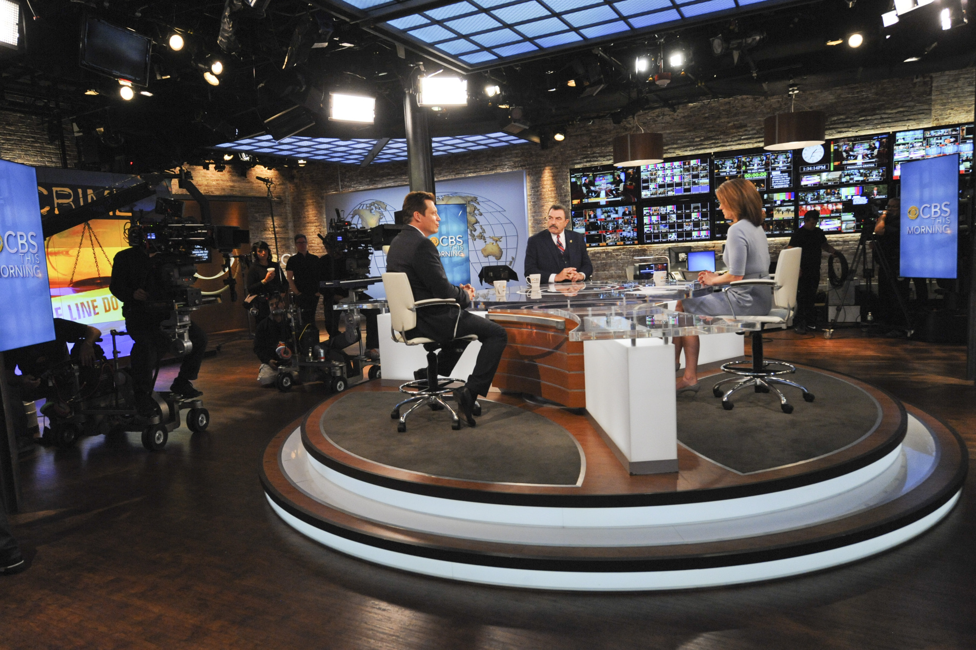 Behind the Scenes on CBS This Morning Set - S5E7