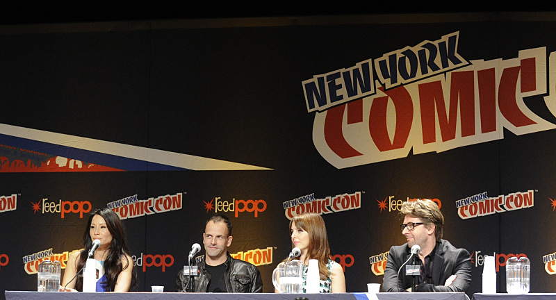 Elementary cast at NYCC