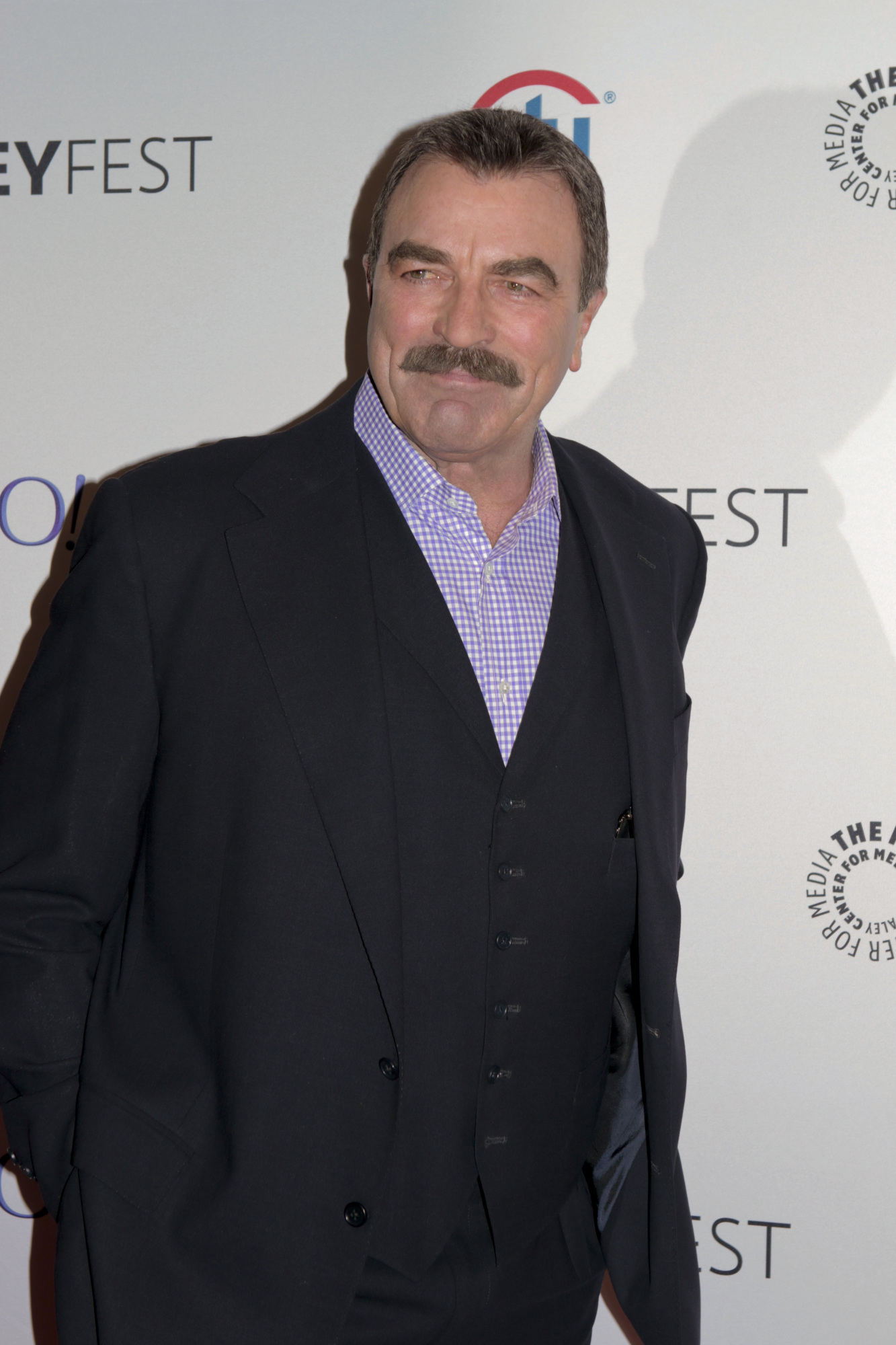2. Tom Selleck glancing in your direction is reason enough.