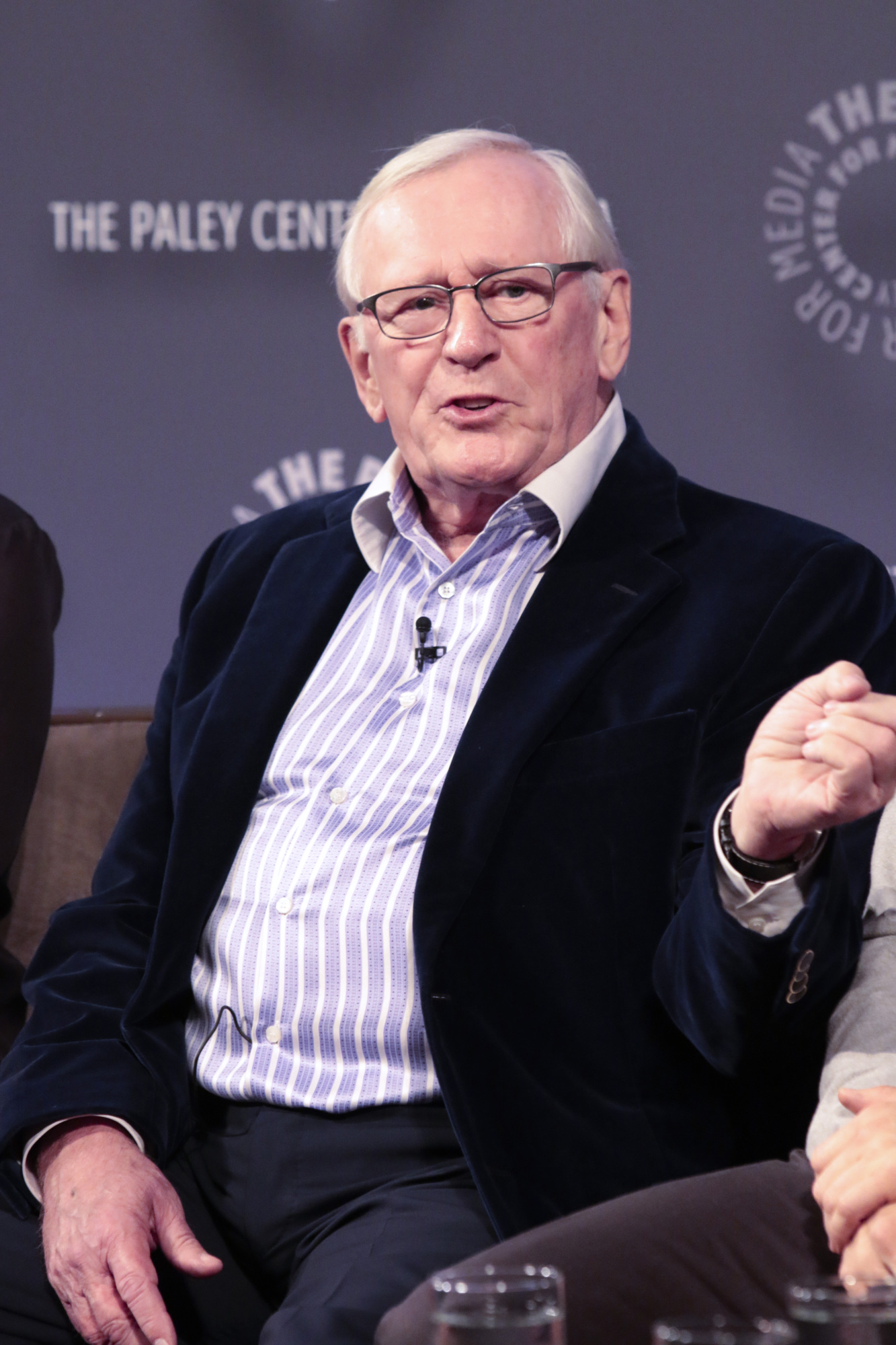15. Len Cariou expressing his thoughts on the show.