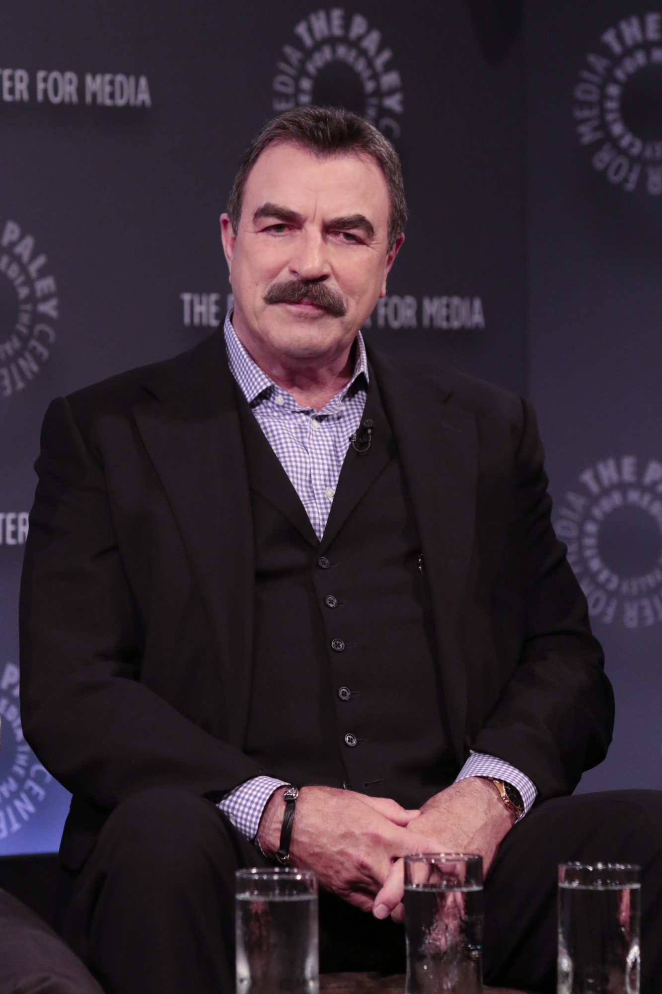 9. Tom Selleck's intently-listening face.