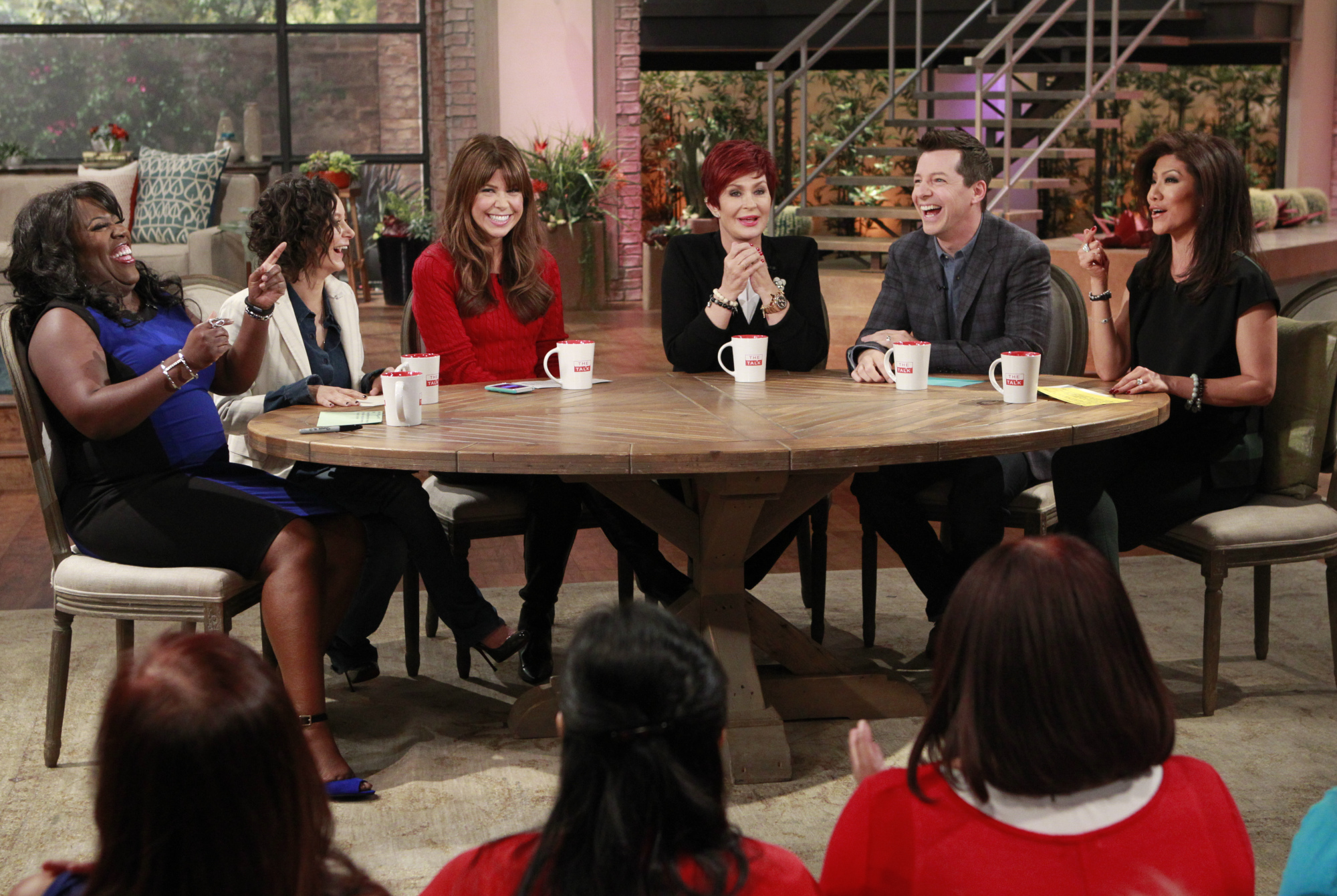 5. Having the hilarious Sean Hayes on as a guest co-host.