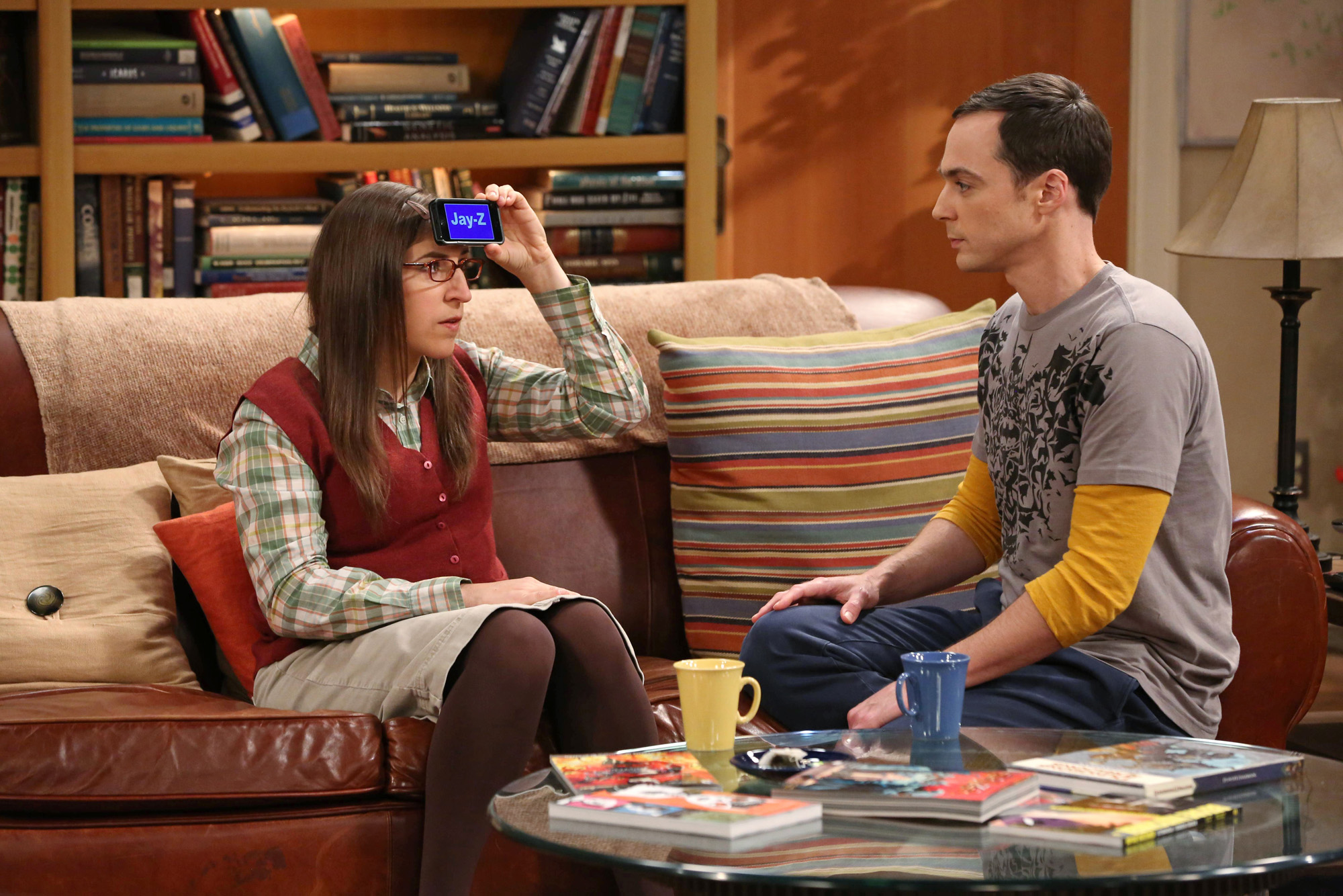 Sheldon tries to guess the answer