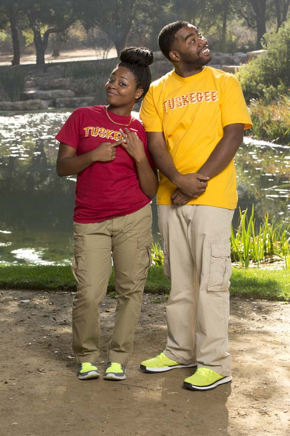 Lebya and CJ - Dating Couple