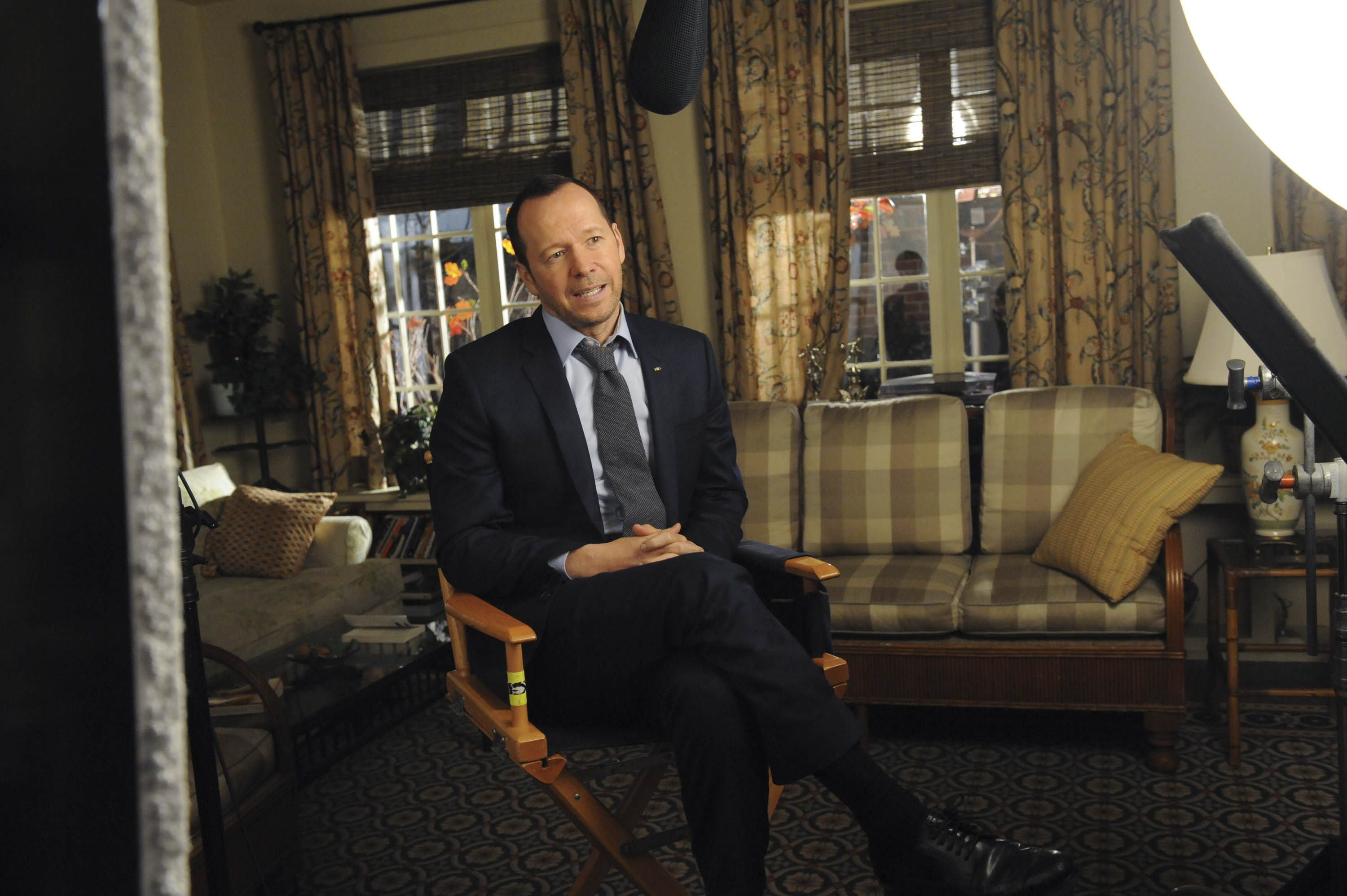 Donnie Wahlberg Speaks Passionately About the 100th Episode of Blue Bloods