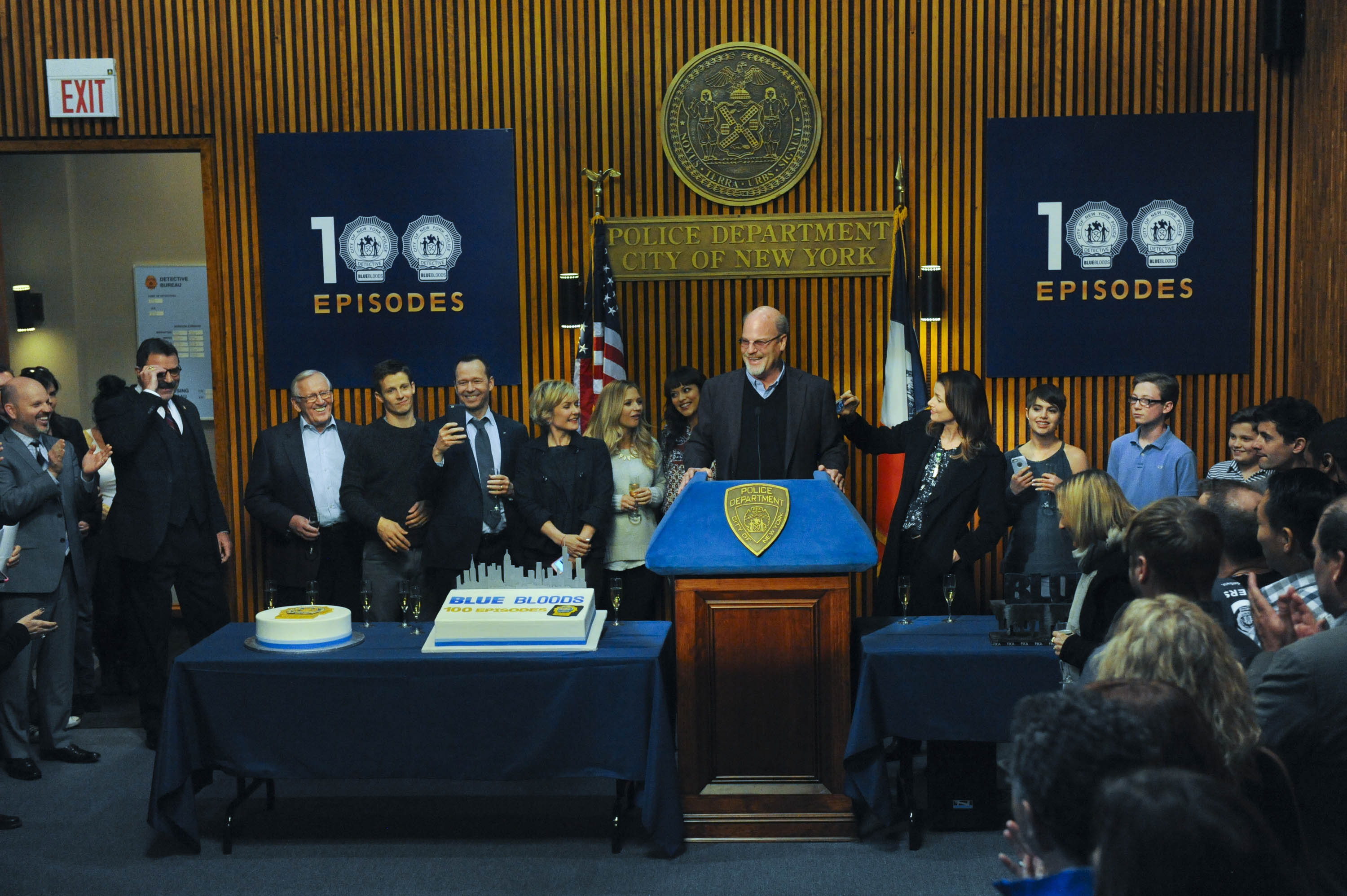 Executive Producer Kevin Wade Speaks at the Blue Bloods 100th Episode Celebration