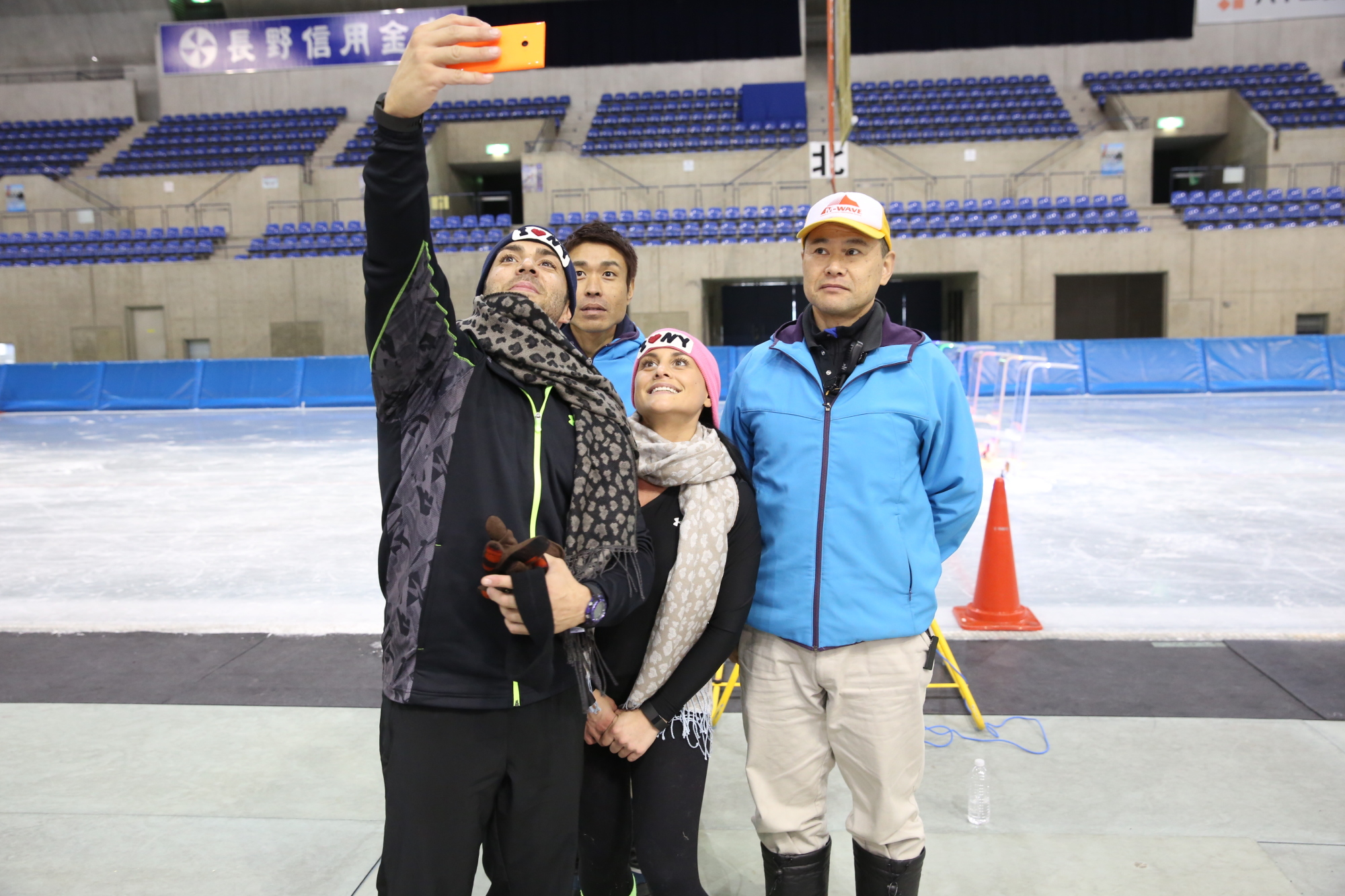 Selfies and skates