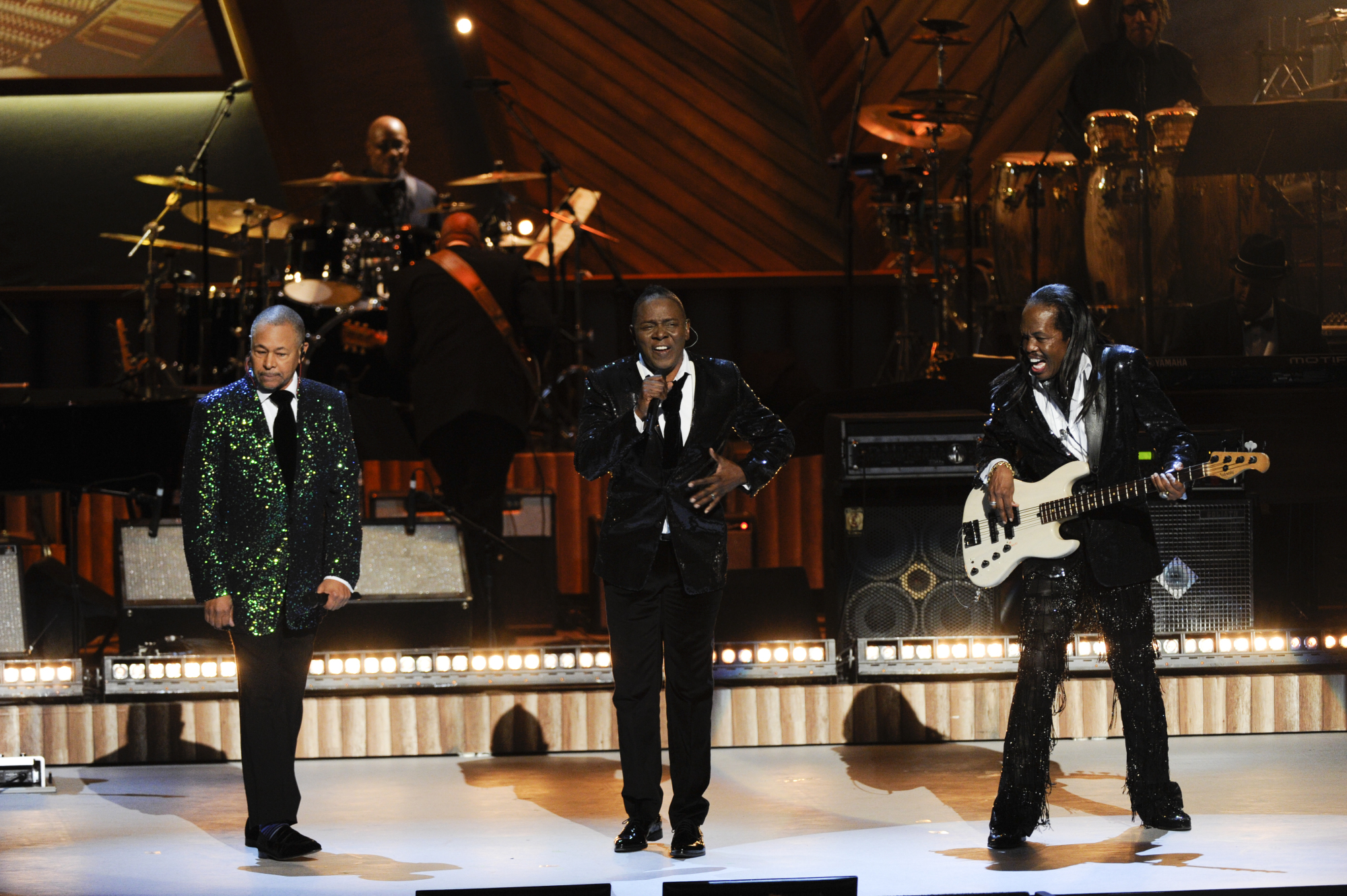 Earth Wind & Fire Perform at the 37th Annual Kennedy Center Honors
