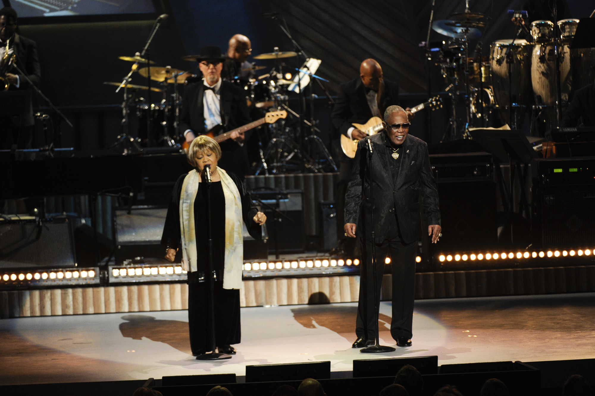 Mavis Staples and Sam Moore Duet on Stage
