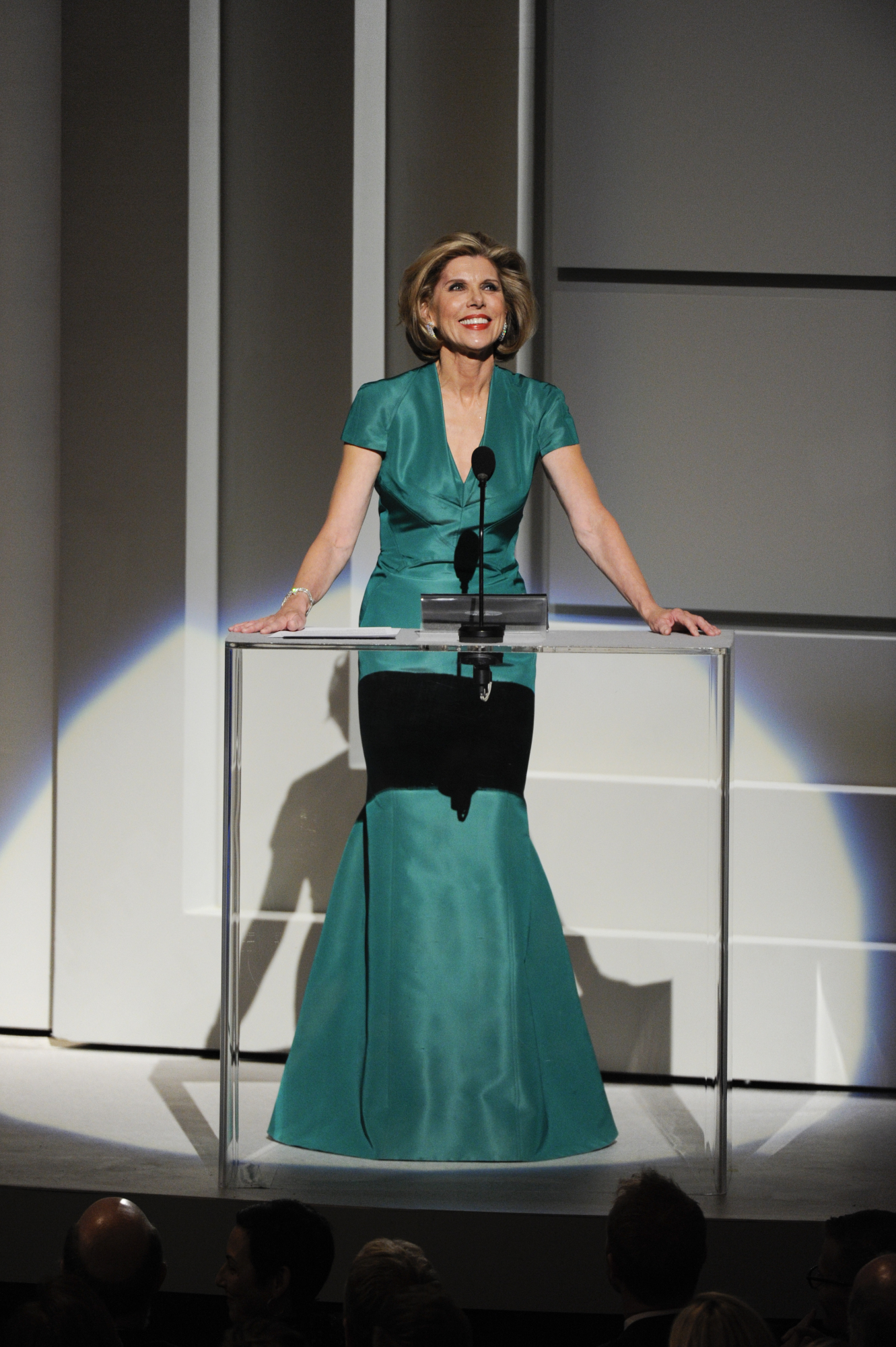 Christine Baranski Speaks at the 37th Annual Kennedy Center Honors