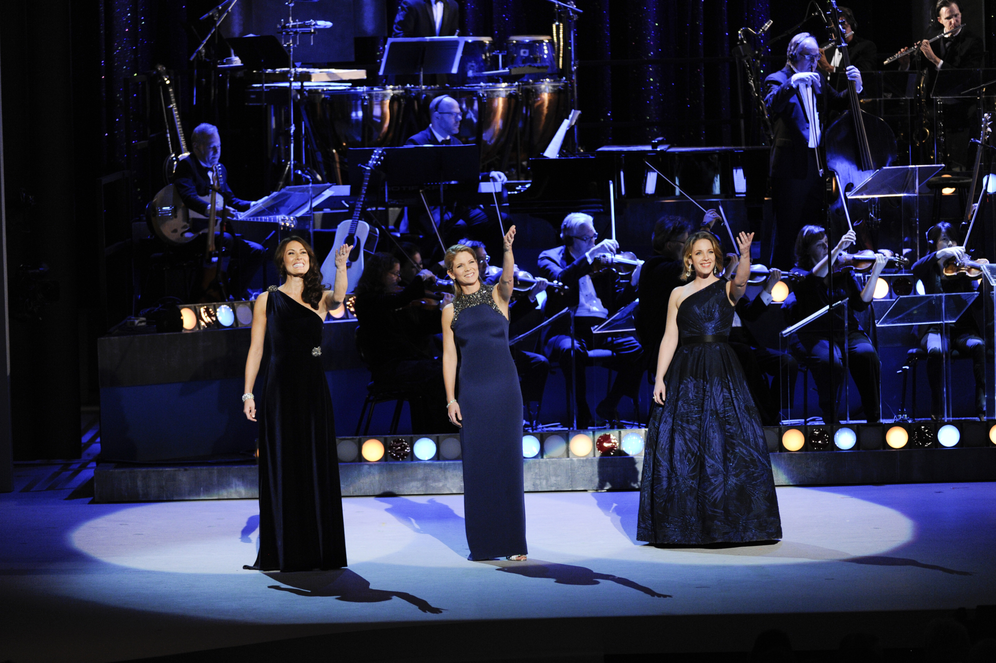 Jessie Mueller, Kelli O'Hara, and Laura Benanti Honor the Honorees