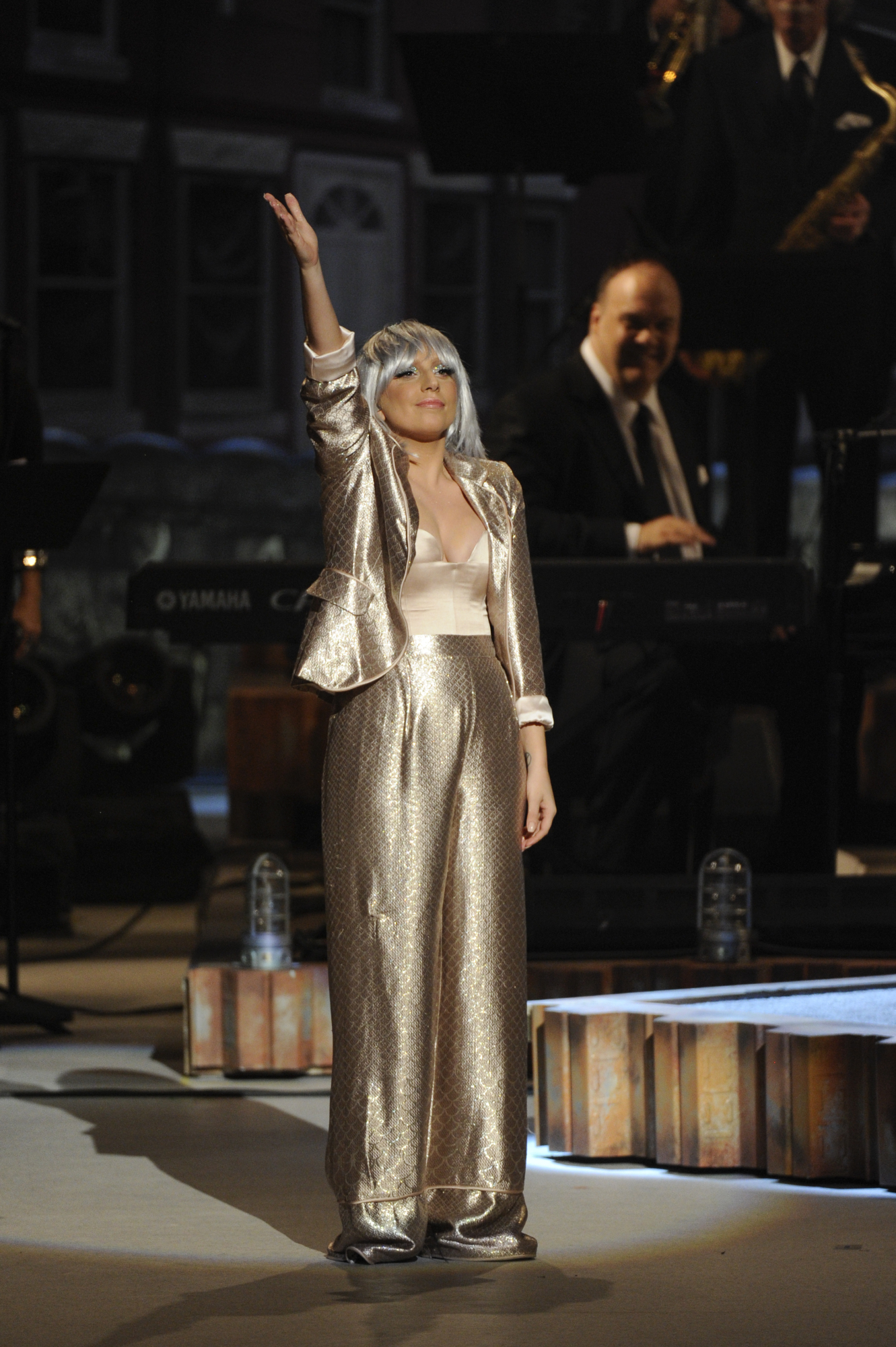 Lady Gaga Honors the Honorees