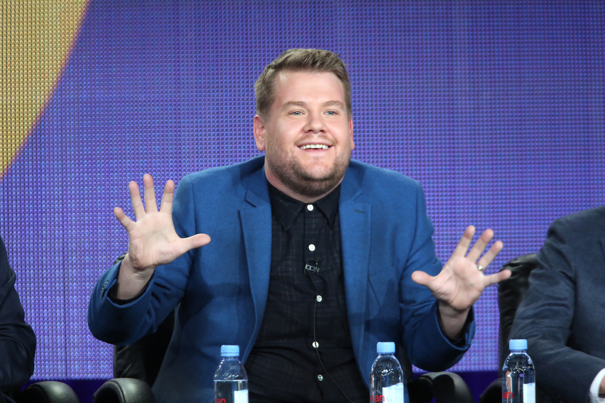Late Late Show host, James Corden