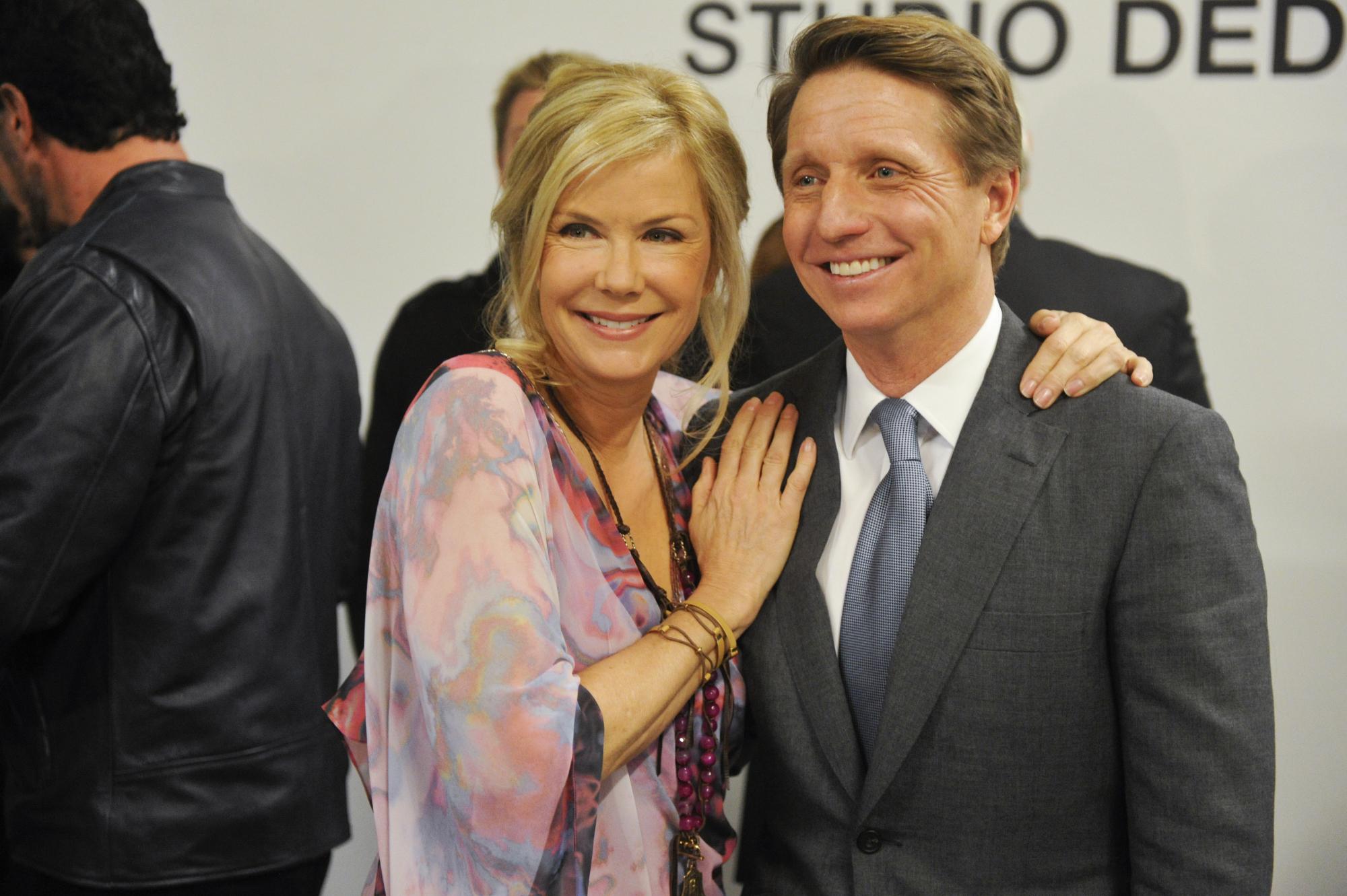Brad & Katherine Kelly Lang