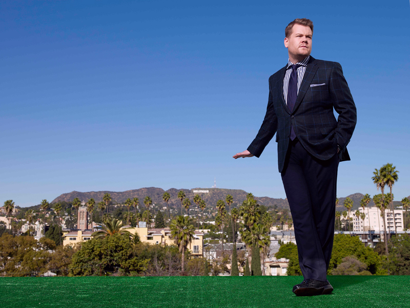 James Corden takes over as host of The Late Late Show