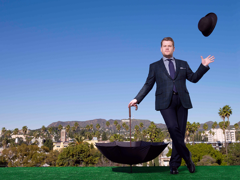Hats off to James Corden, host of The Late Late Show