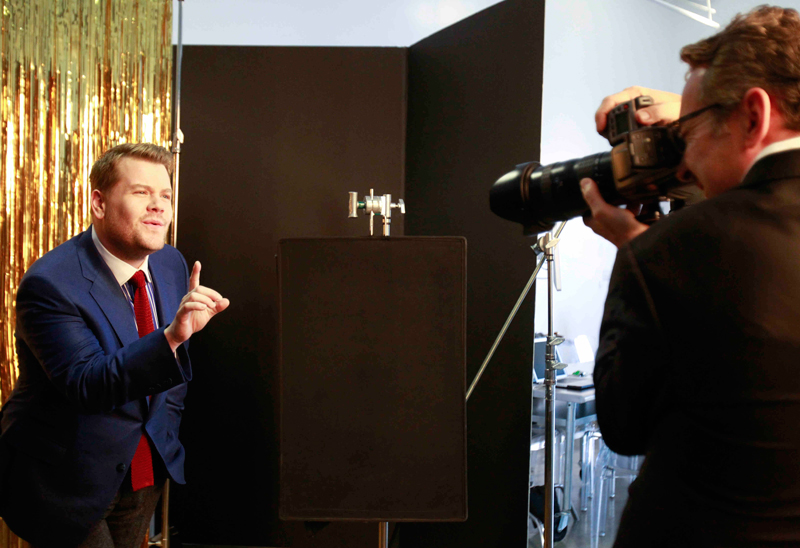 James Corden, the new host of The Late Late Show
