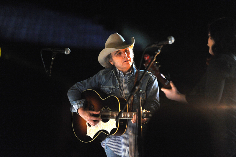 Dwight Yoakam rehearses for his big GRAMMY performances.