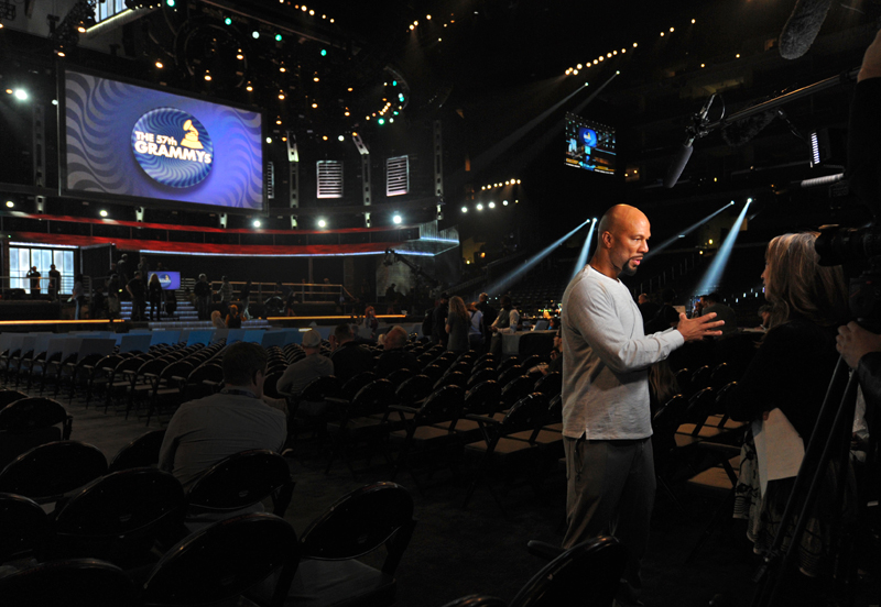 Behind the Scenes at The 57th Annual Grammy Awards