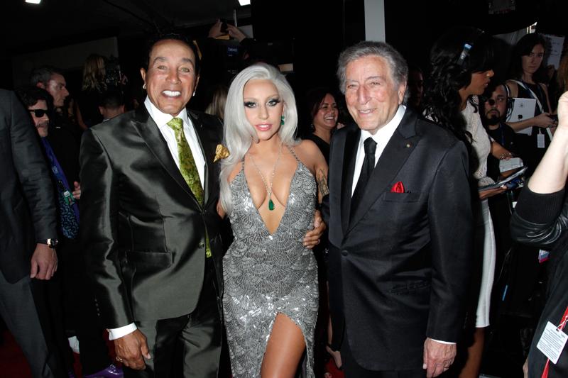 Smokey Robinson, Lady Gaga, & Tony Bennett