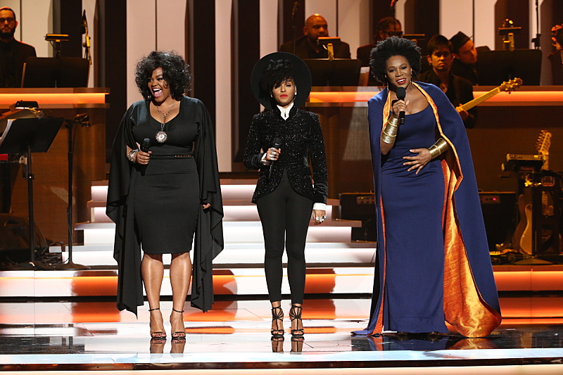 Jill Scott, Janelle Monae, and India.Arie